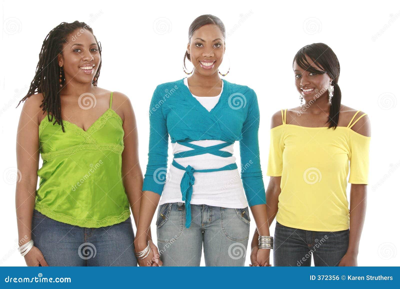 Friends girl hands holding