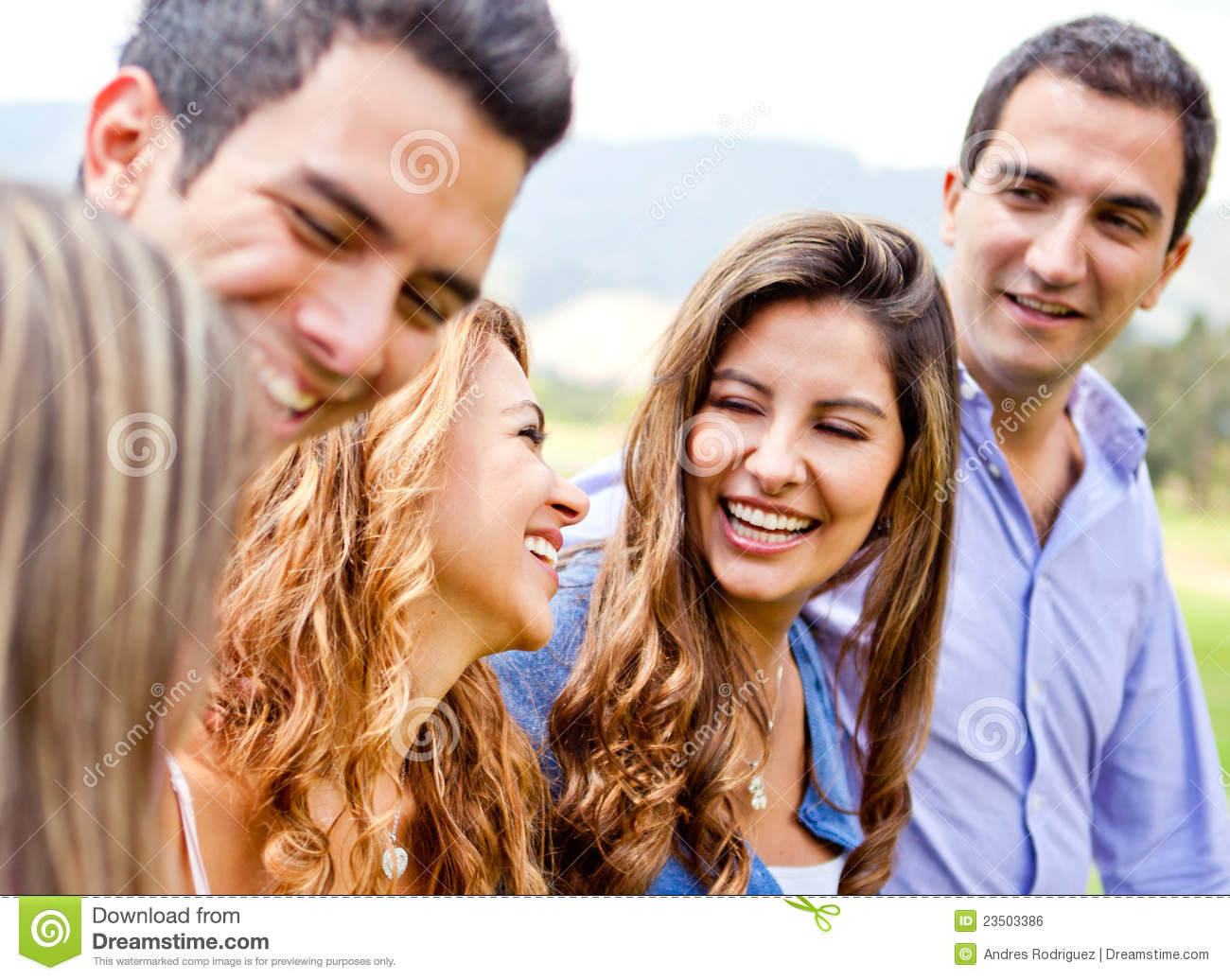 Friends hanging out royalty free stock image image 23503386 for Hanging groups of pictures