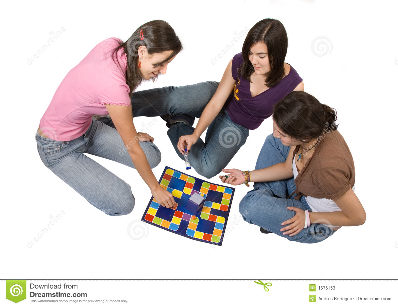 Friends Playing Board Games Stock Photos - Image: 1676153