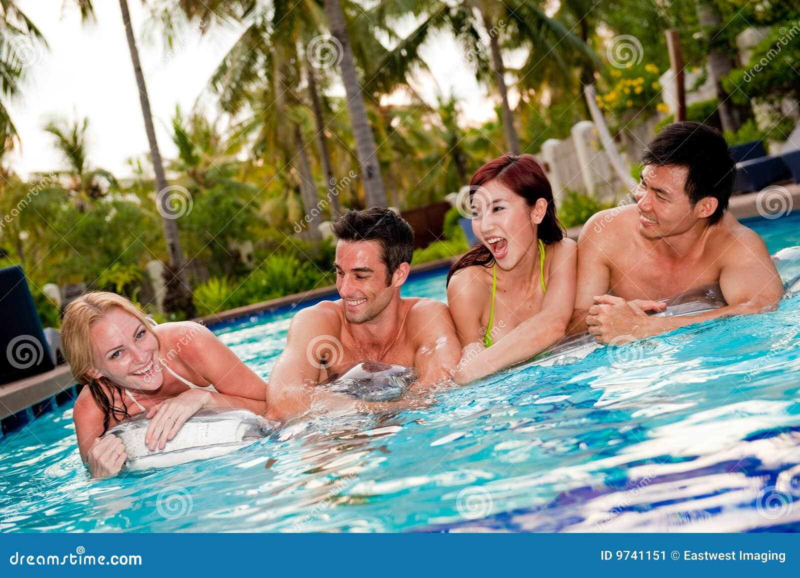 pool friends