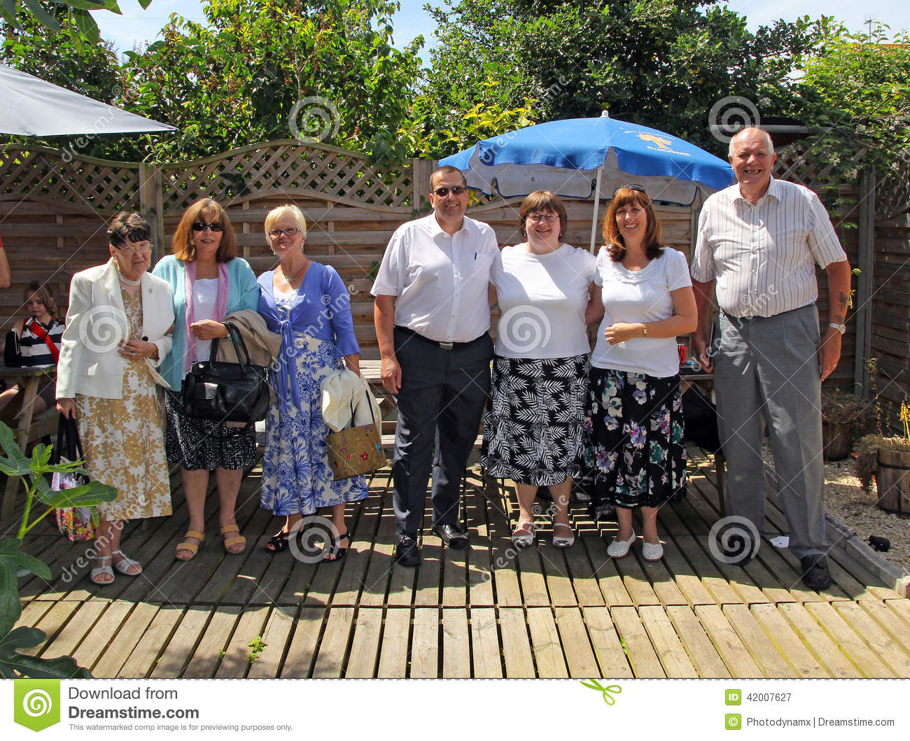 Gardening Group: Friends Reunion Editorial Photography. Image Of Diversity