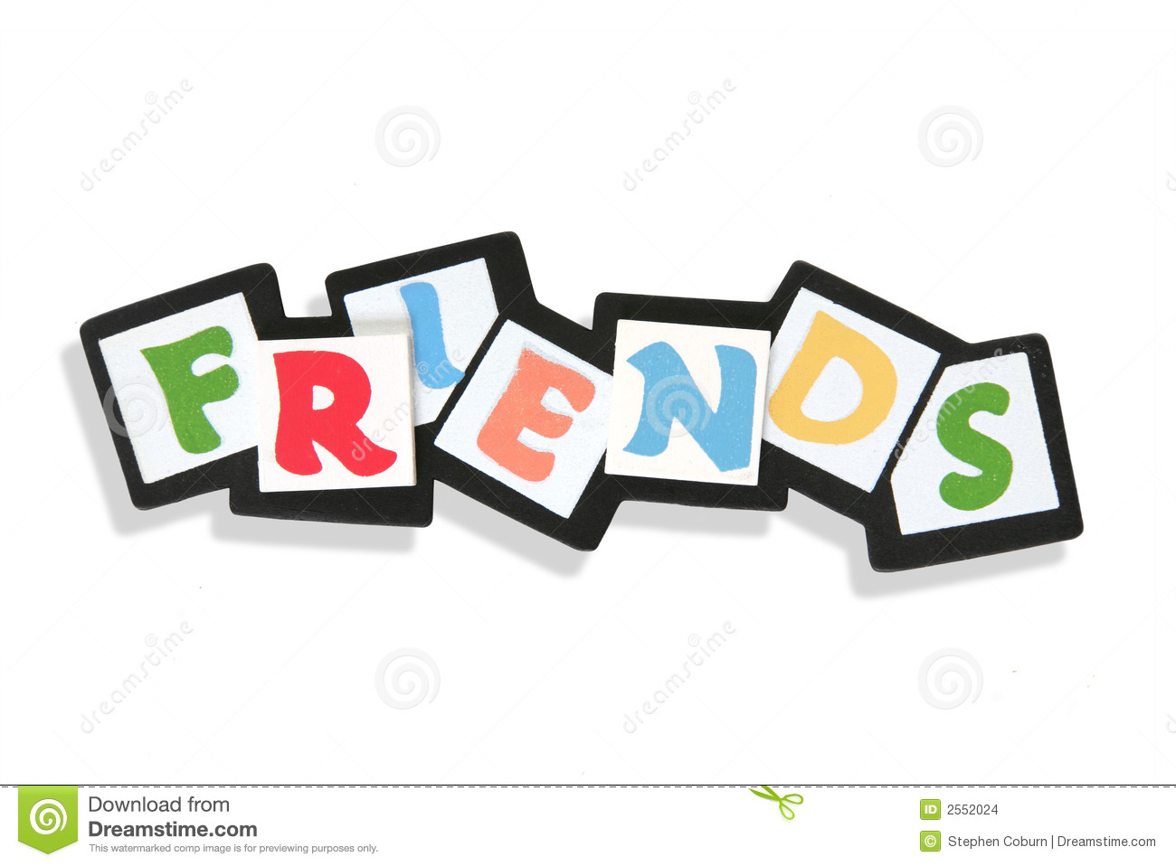 Friends Sign Stock Images Image 2552024