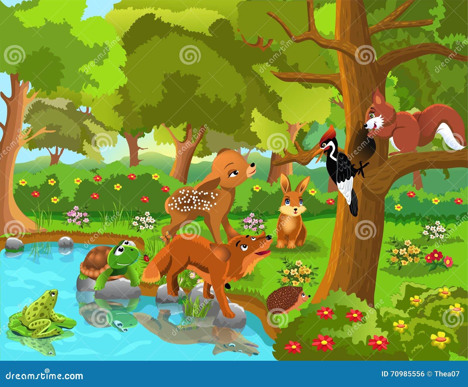 Marten Animal Wallpaper Graphic Design