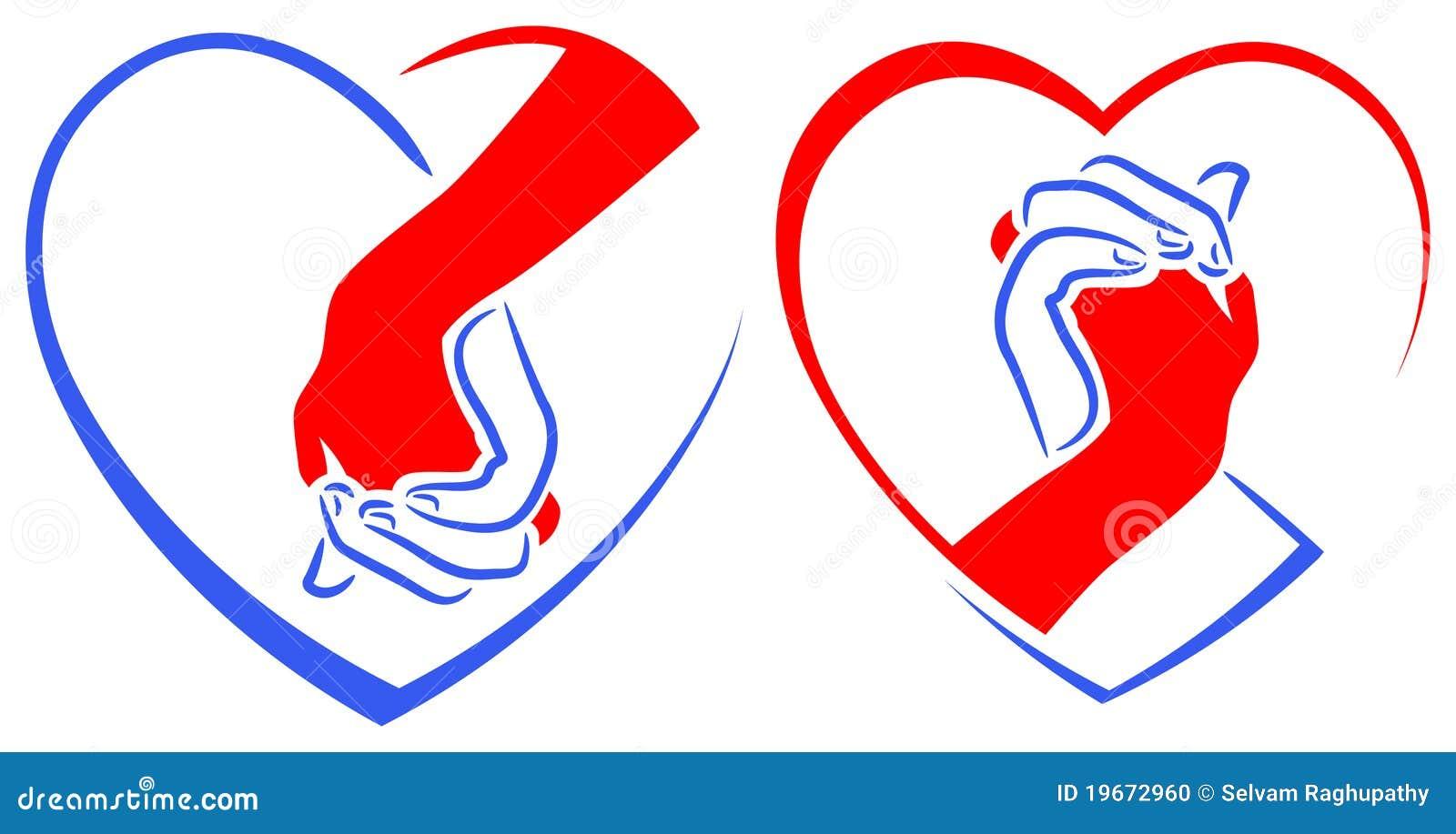 Friendship Logo Designs Stock Photo Image 19672960
