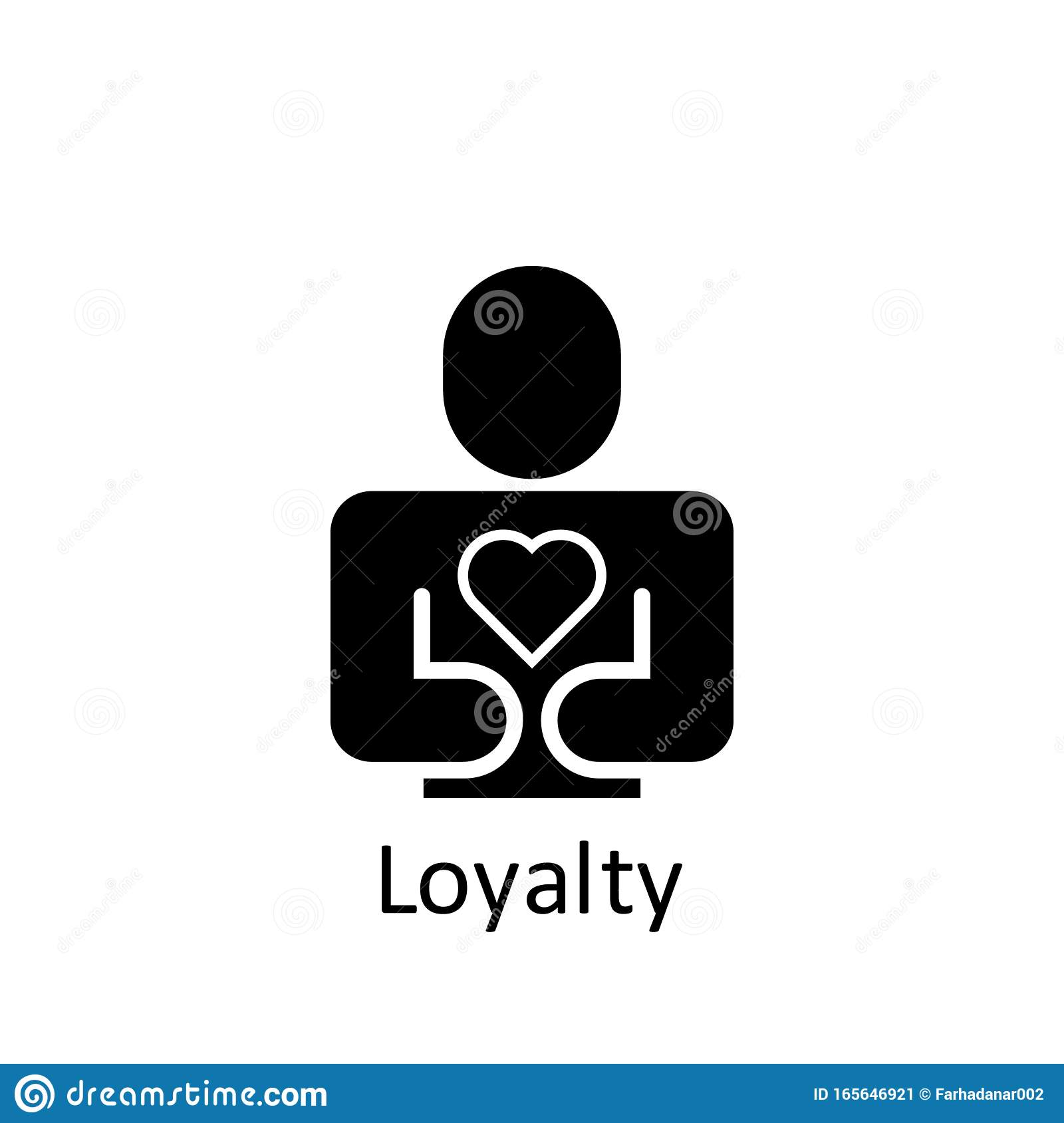 Friendship Loyalty Icon Element Of Friendship Icon Premium Quality Graphic Design Icon Signs And Symbols Collection Icon For Stock Illustration Illustration Of Symbol Relationship 165646921