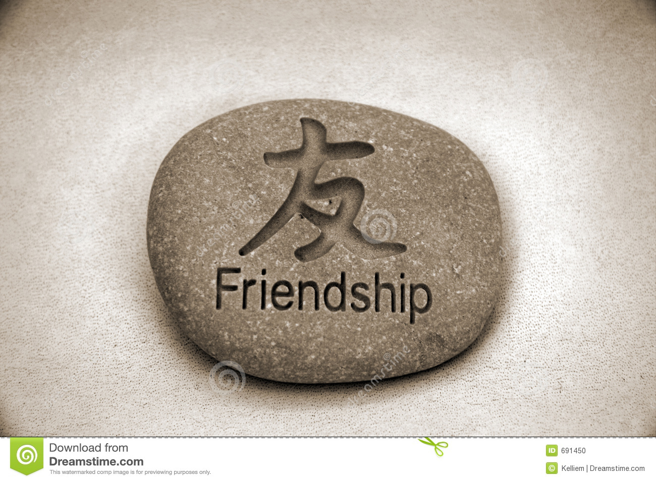 Friendship Rock Stock Photo - Image: 691450