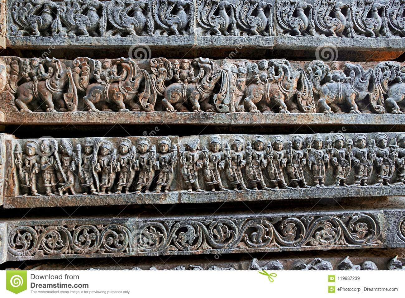 Friezes Of Animals  Scenes From Mythological Episodes From