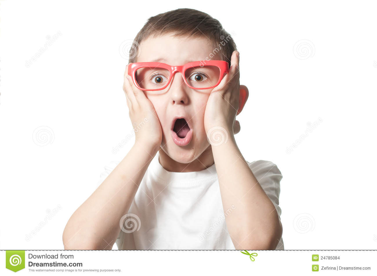 Frightened Boy Stock Images - Image: 24785084