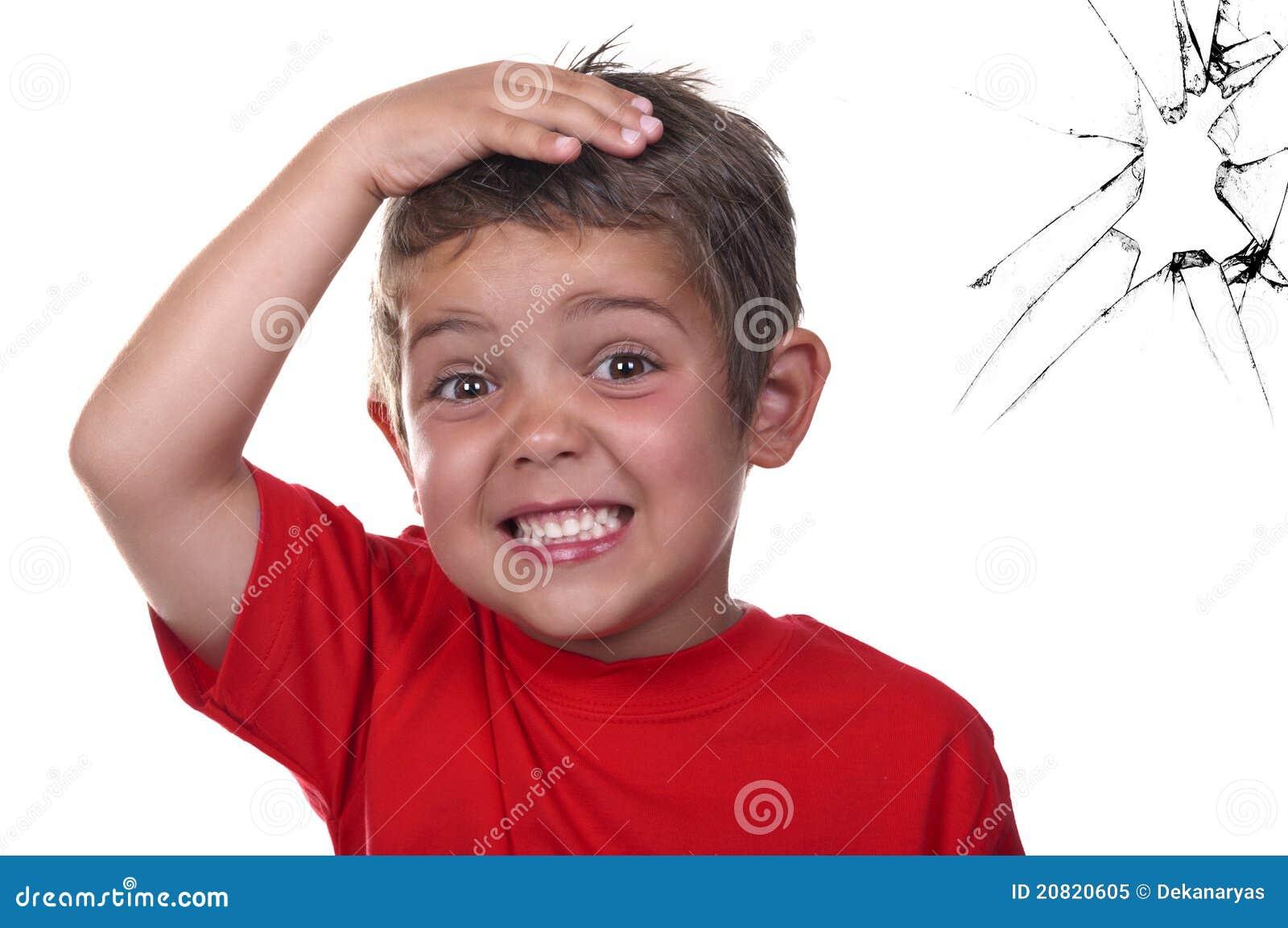 Frightened Child Royalty Free Stock Photo - Image: 20820605