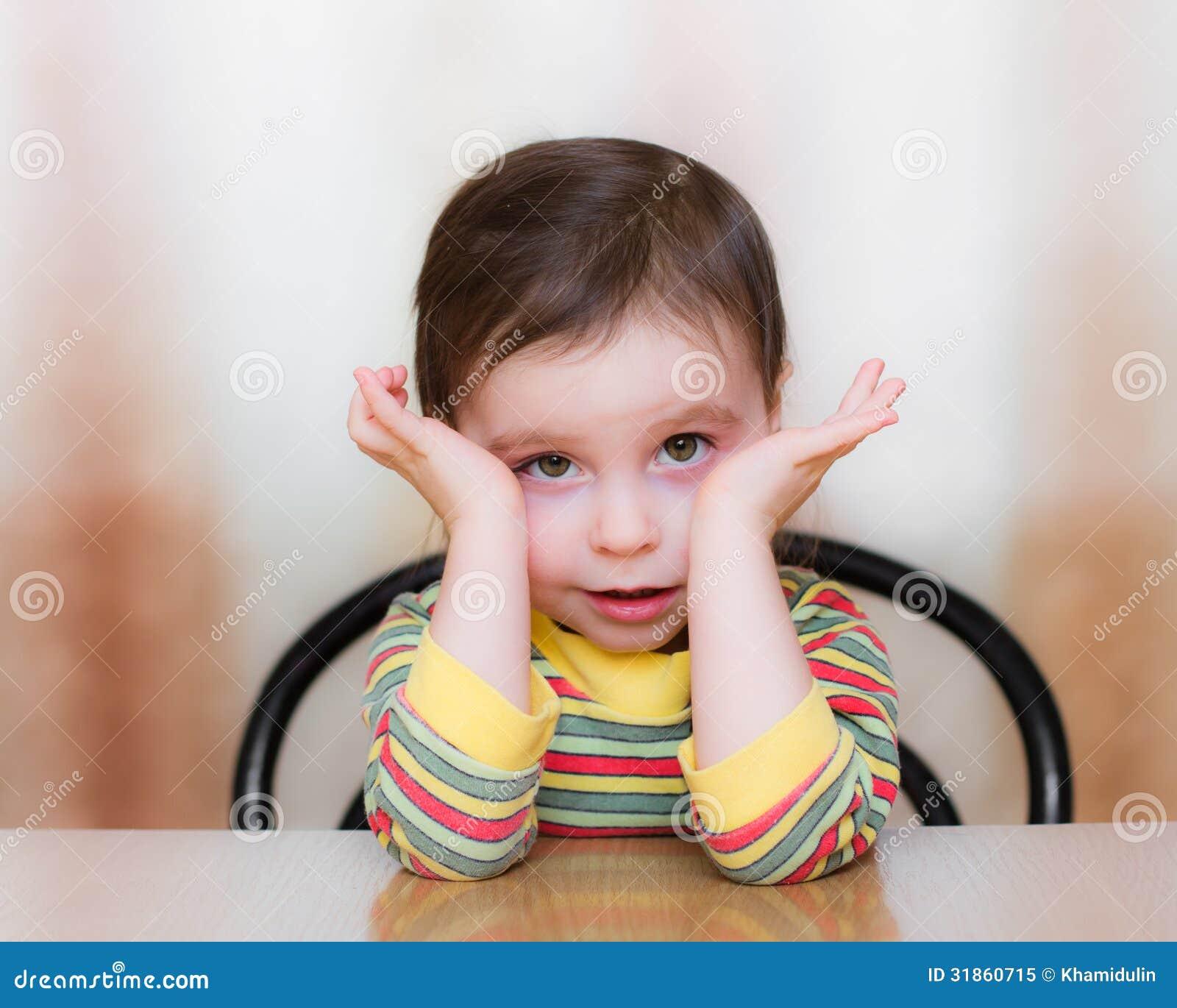 Frightened Child Royalty Free Stock Photo - Image: 31860715