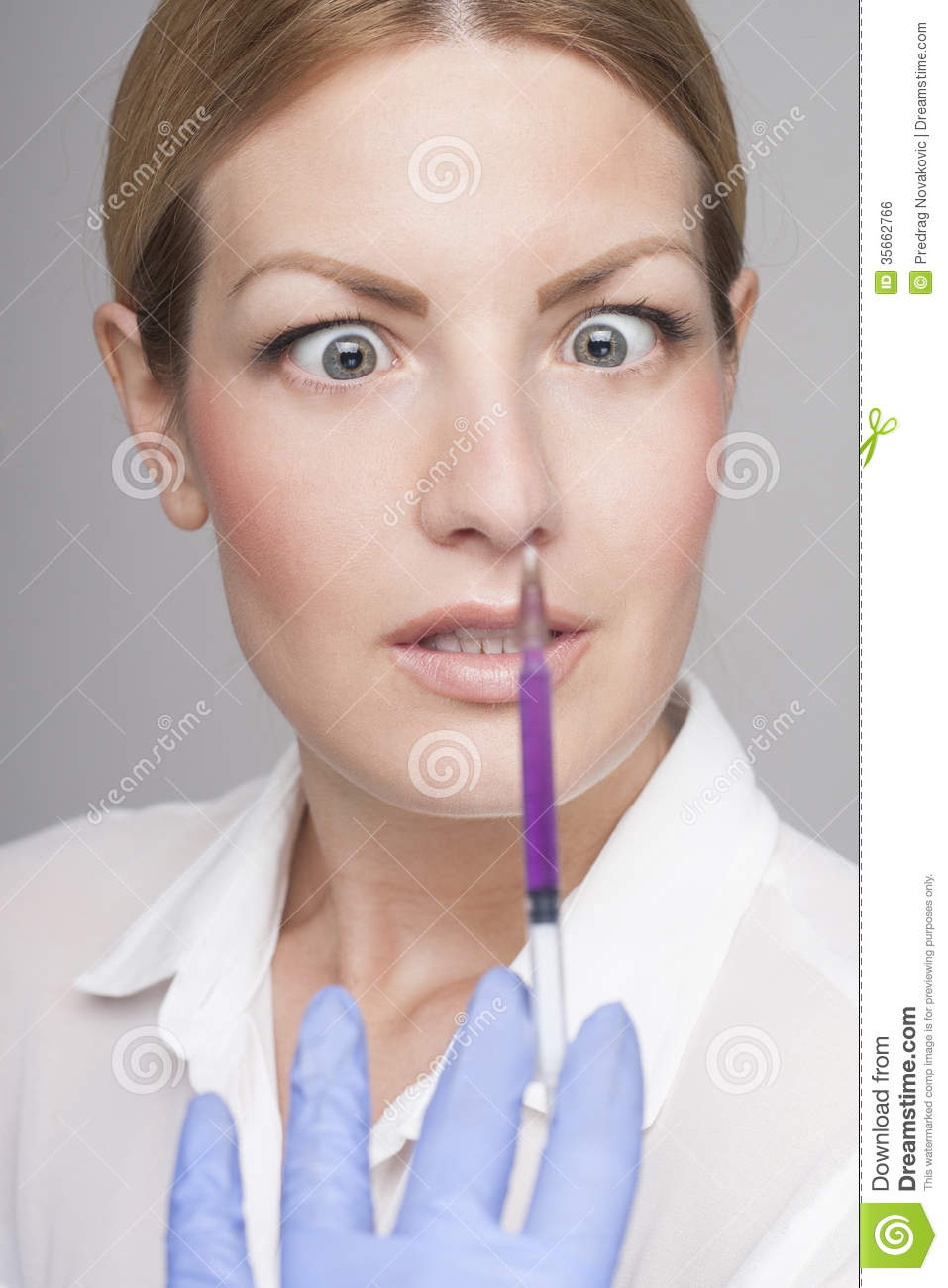 Frightened Face Royalty Free Stock Image - Image: 35662766