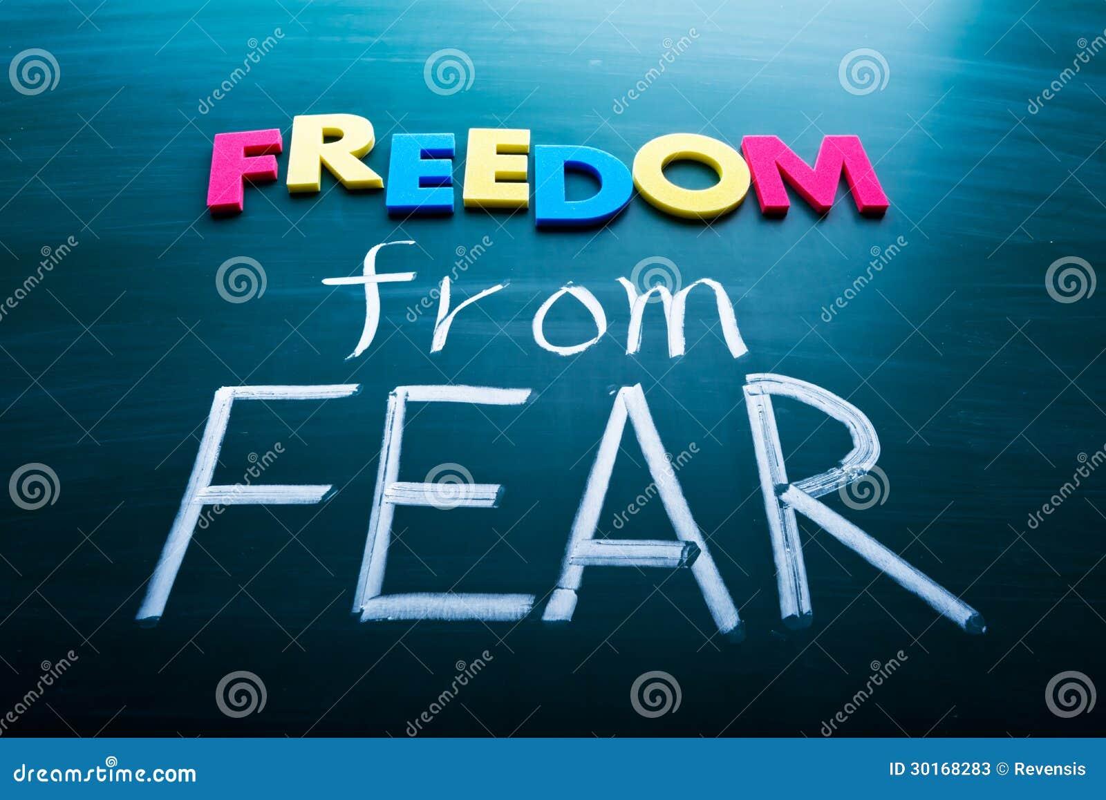 Frihet från skräck