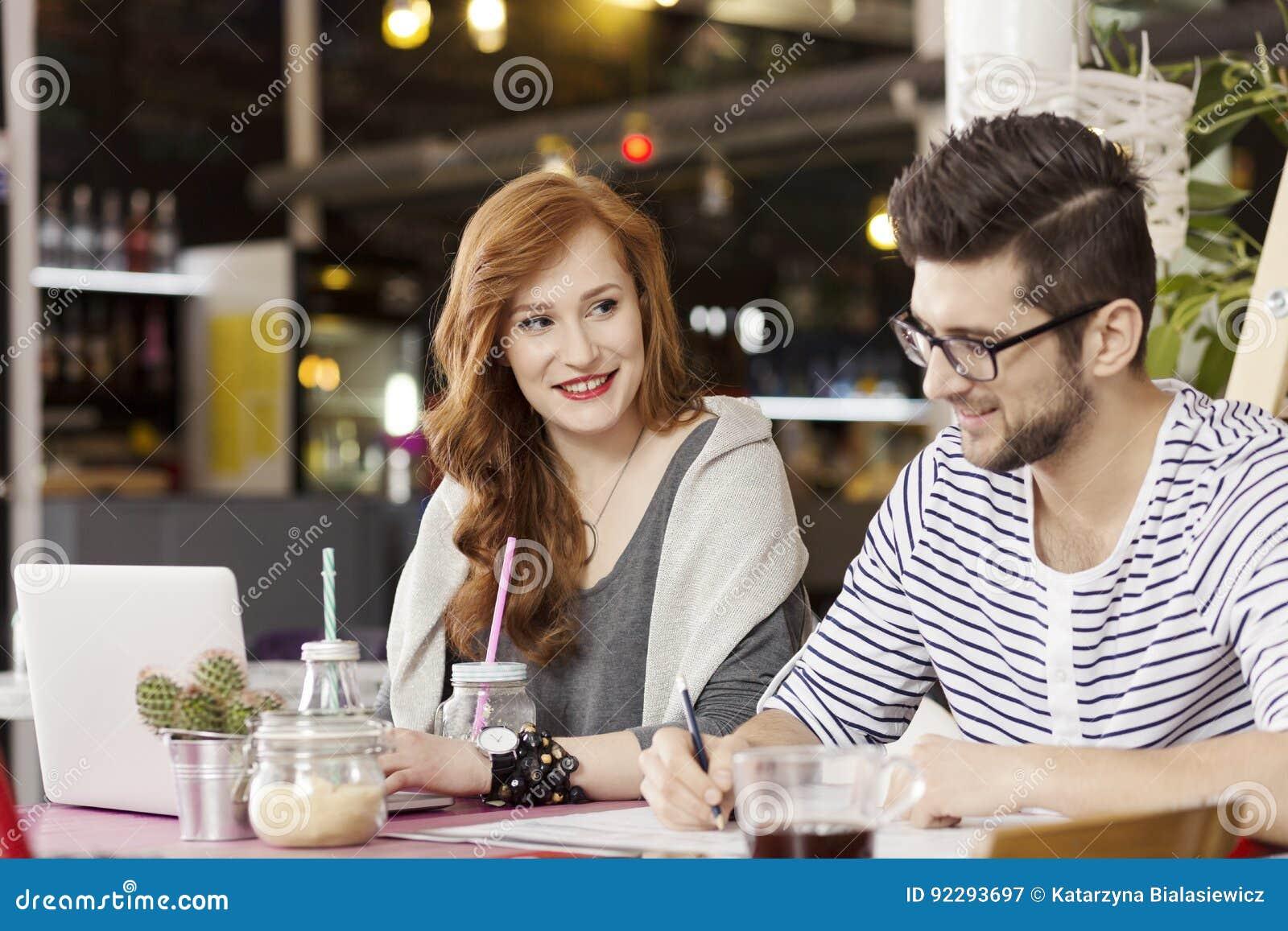Frilans- par som tycker om kaffeavbrottet