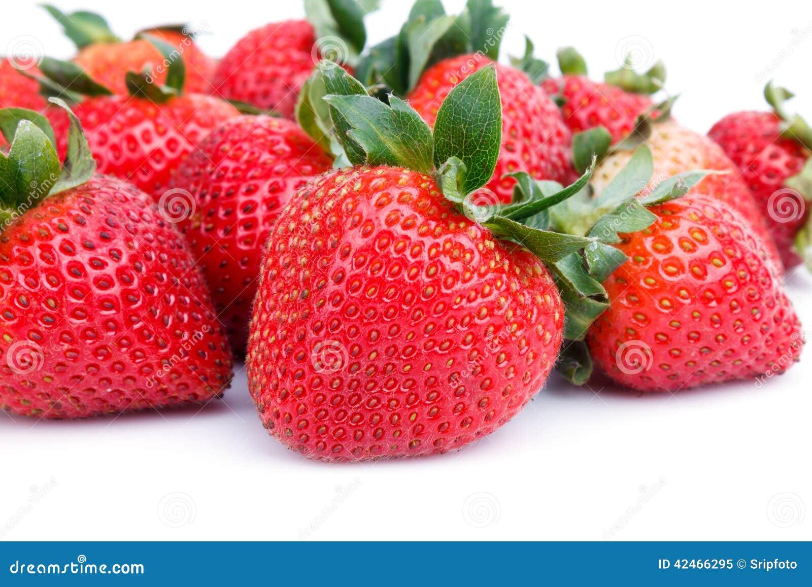 Frische Erdbeeren