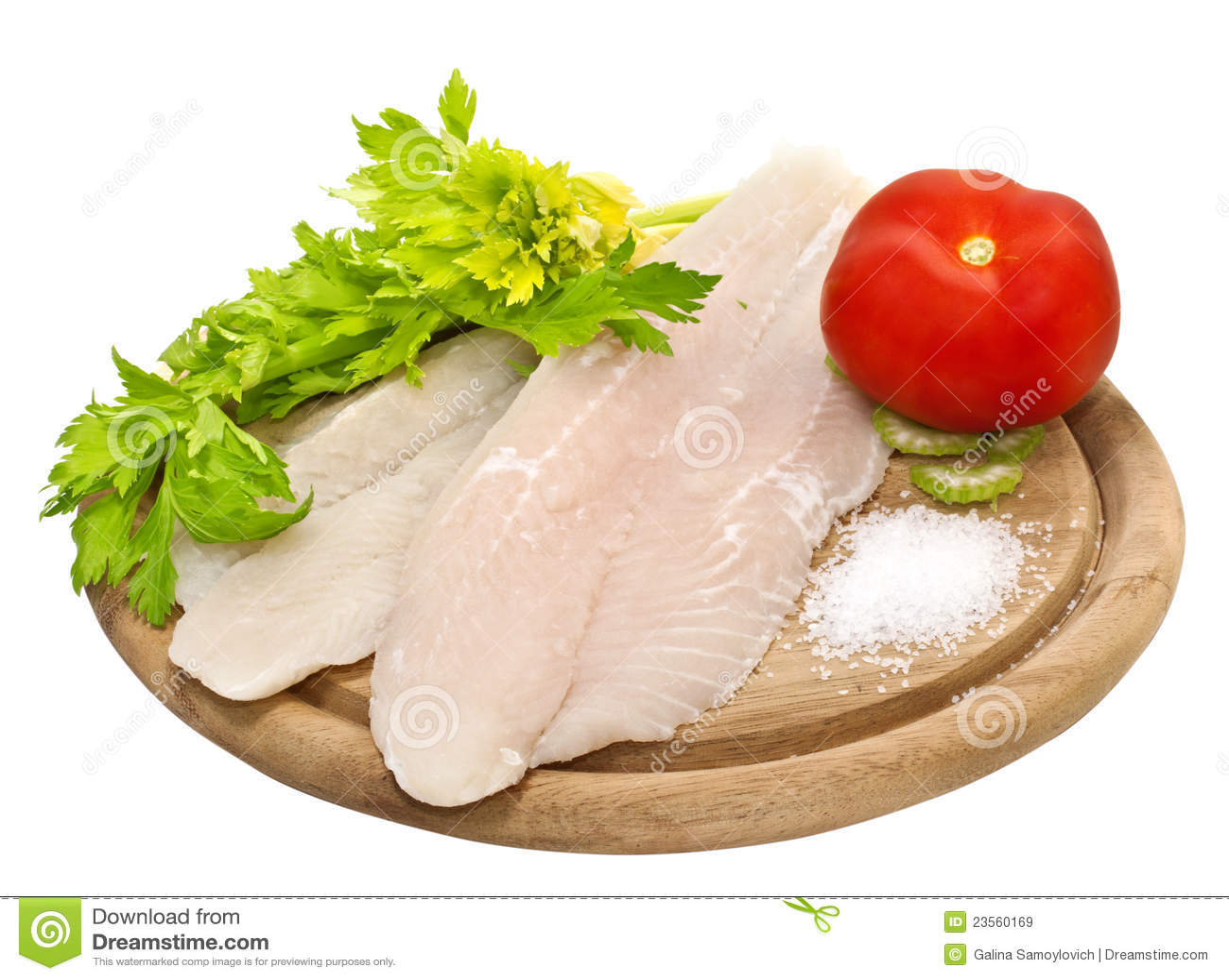 Frische Fischfilets