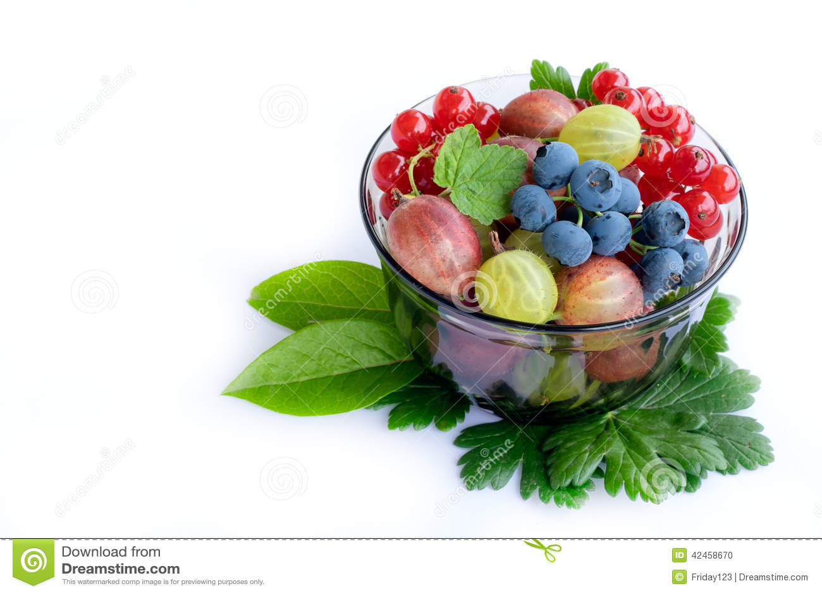 Frische Frucht-Schüssel