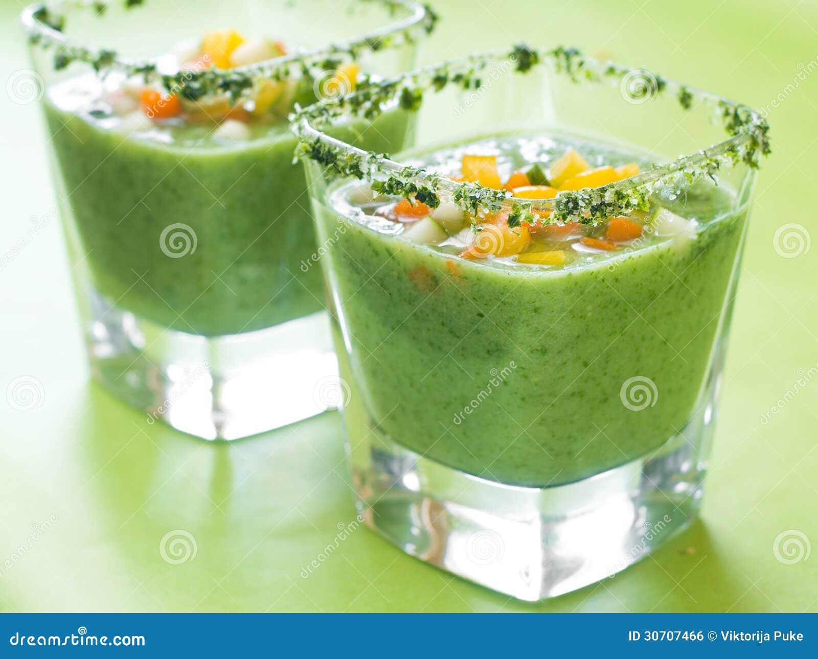 frische kalte suppe gazpacho stockfoto bild 30707466. Black Bedroom Furniture Sets. Home Design Ideas