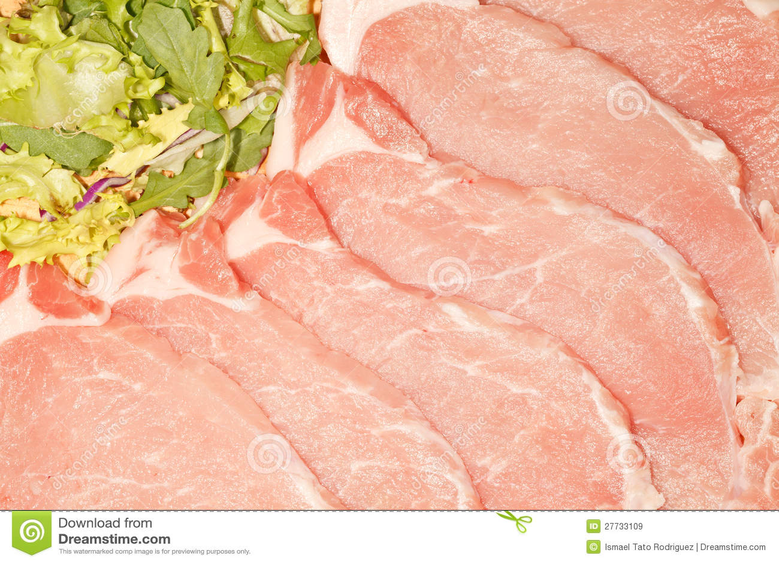 Frische Lende-Steaks