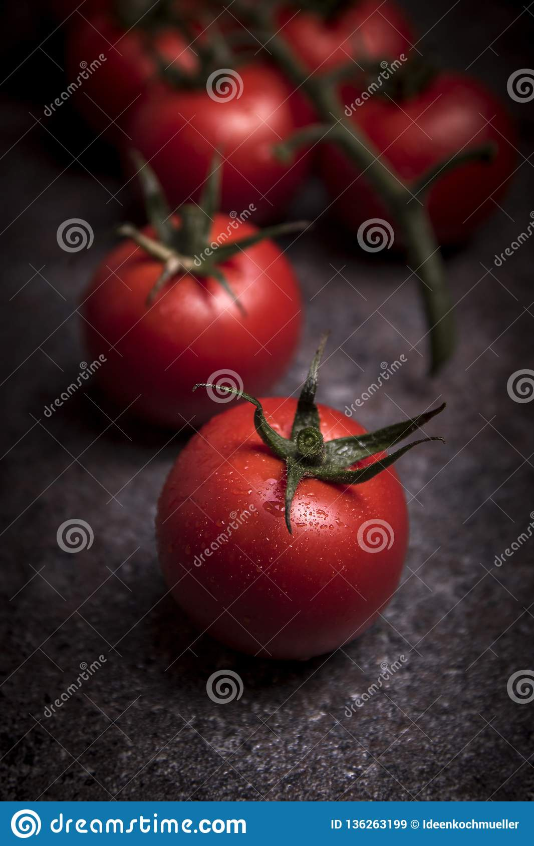 Frische Trauben-Tomaten