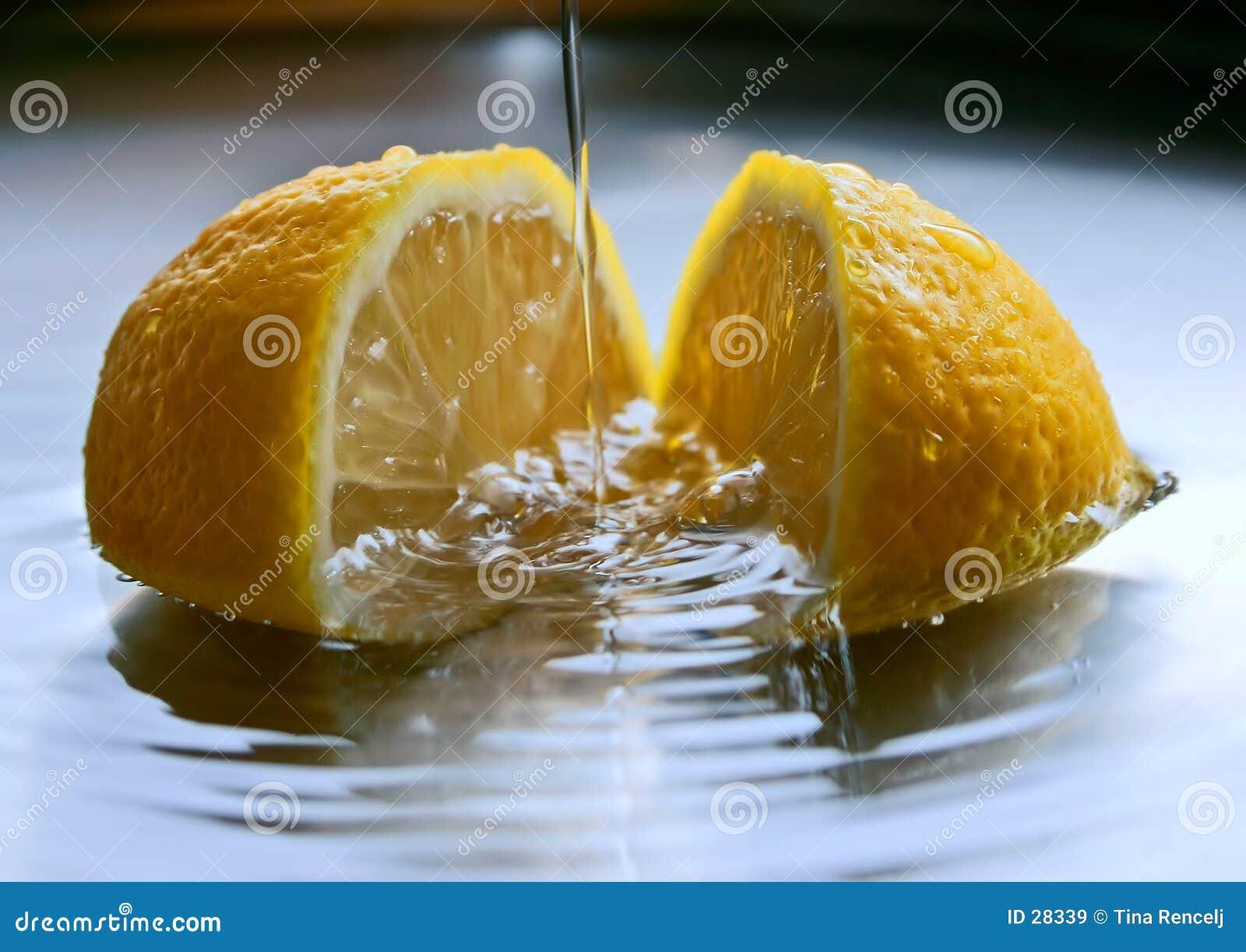 Frische Zitrone