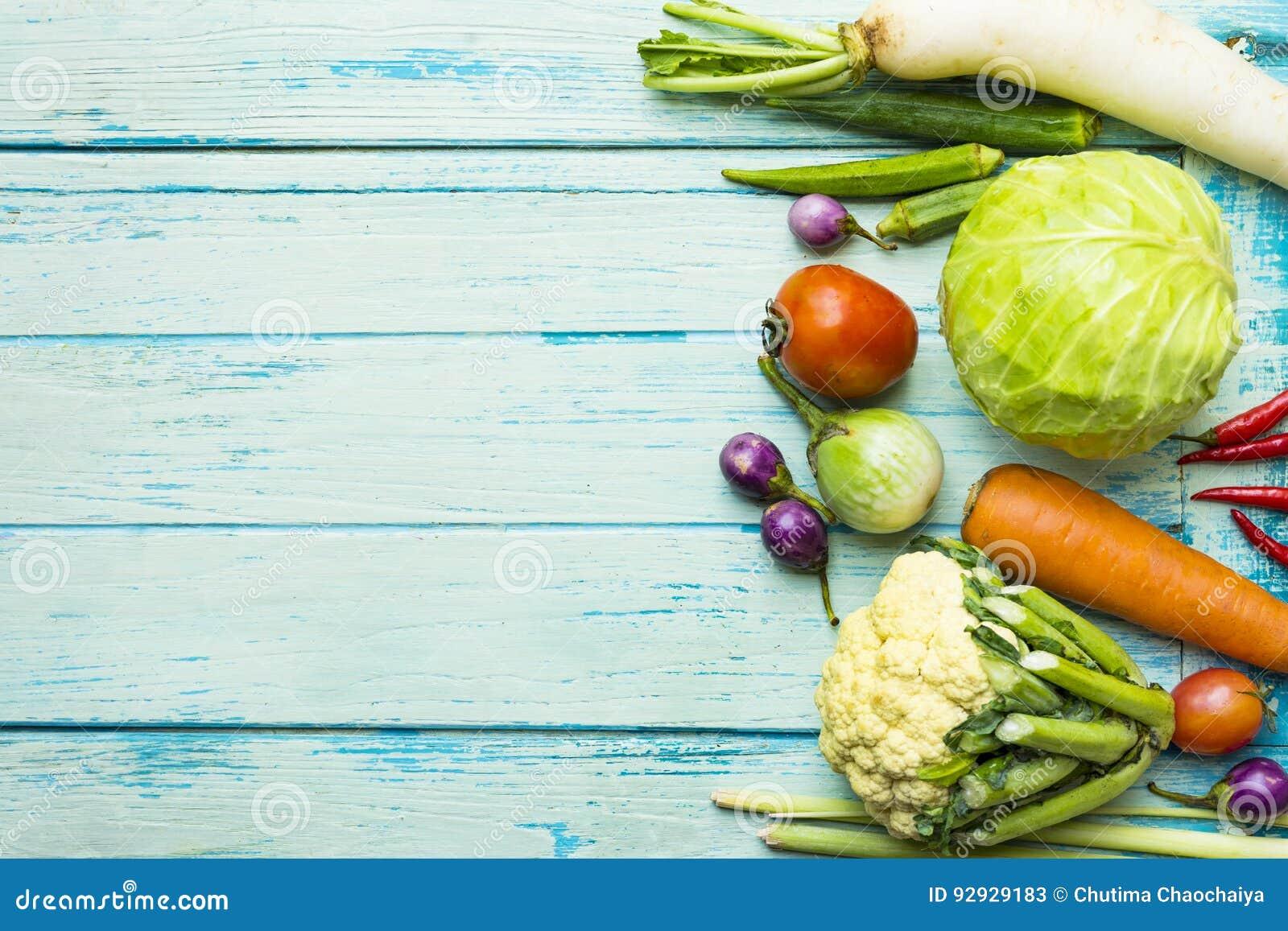 Frisches Landwirtmarktobst und gemüse -