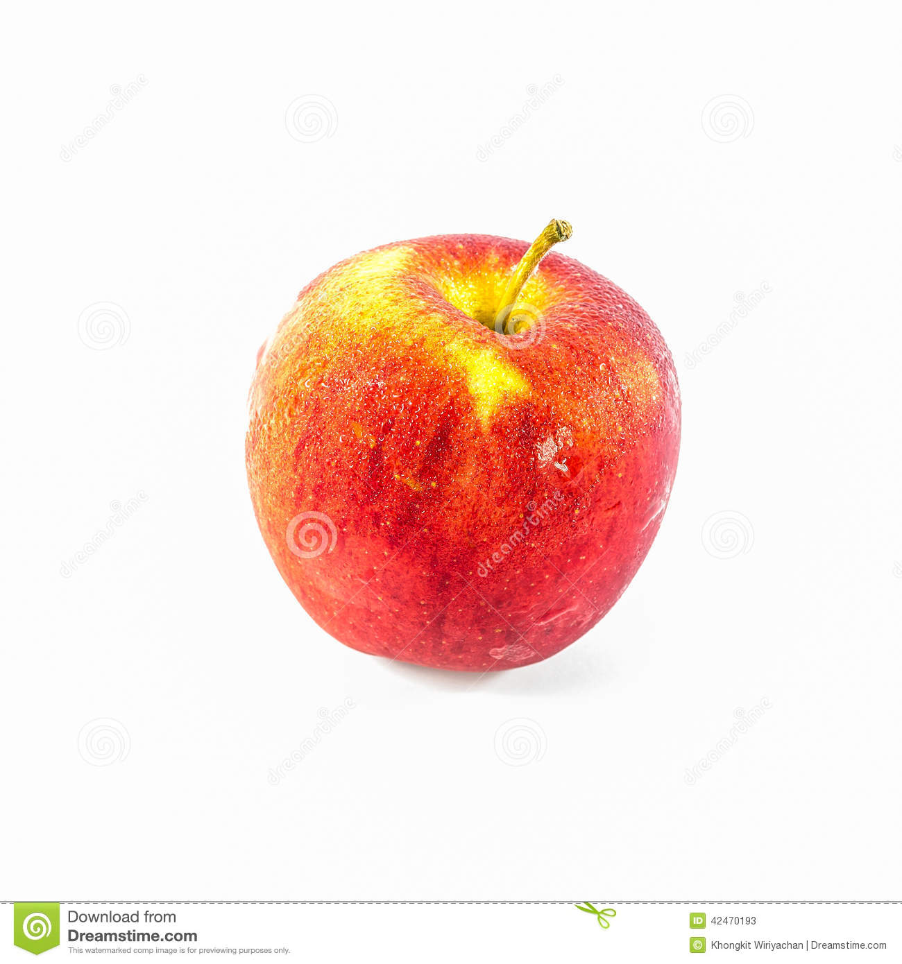 Frisches rotes Apple