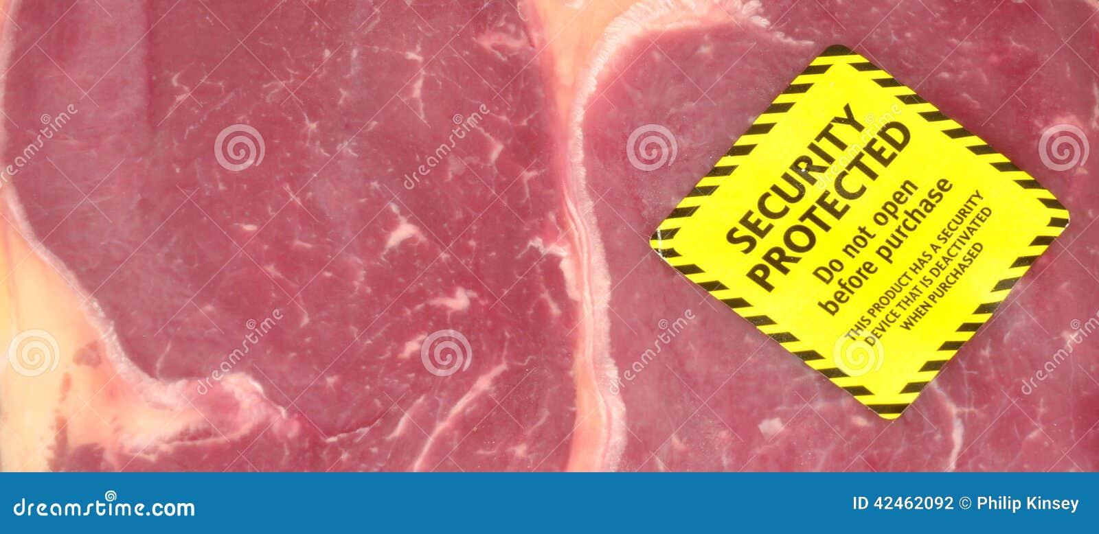 Frischfleisch-Sicherheits-Tag