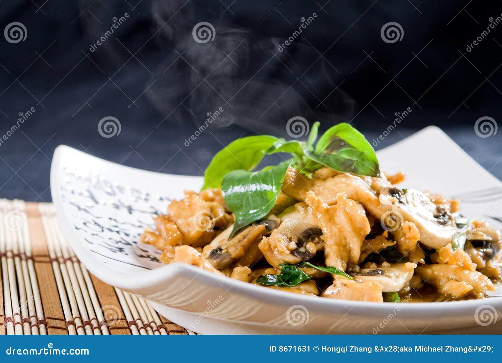 Friture de monsieur de poulet