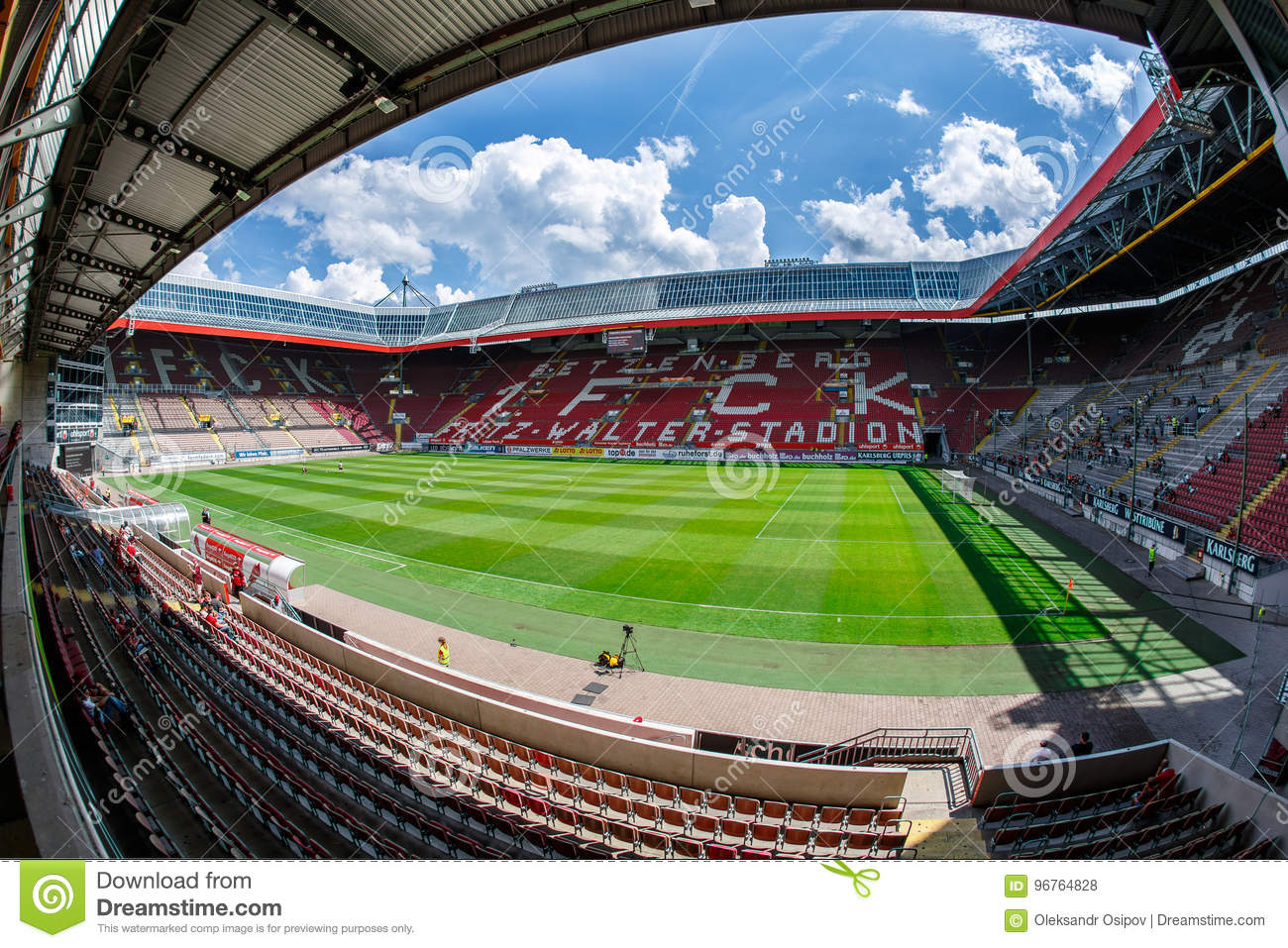 The Fritz Walter Stadion Home To The 2 Bundesliga Club 1 Fc