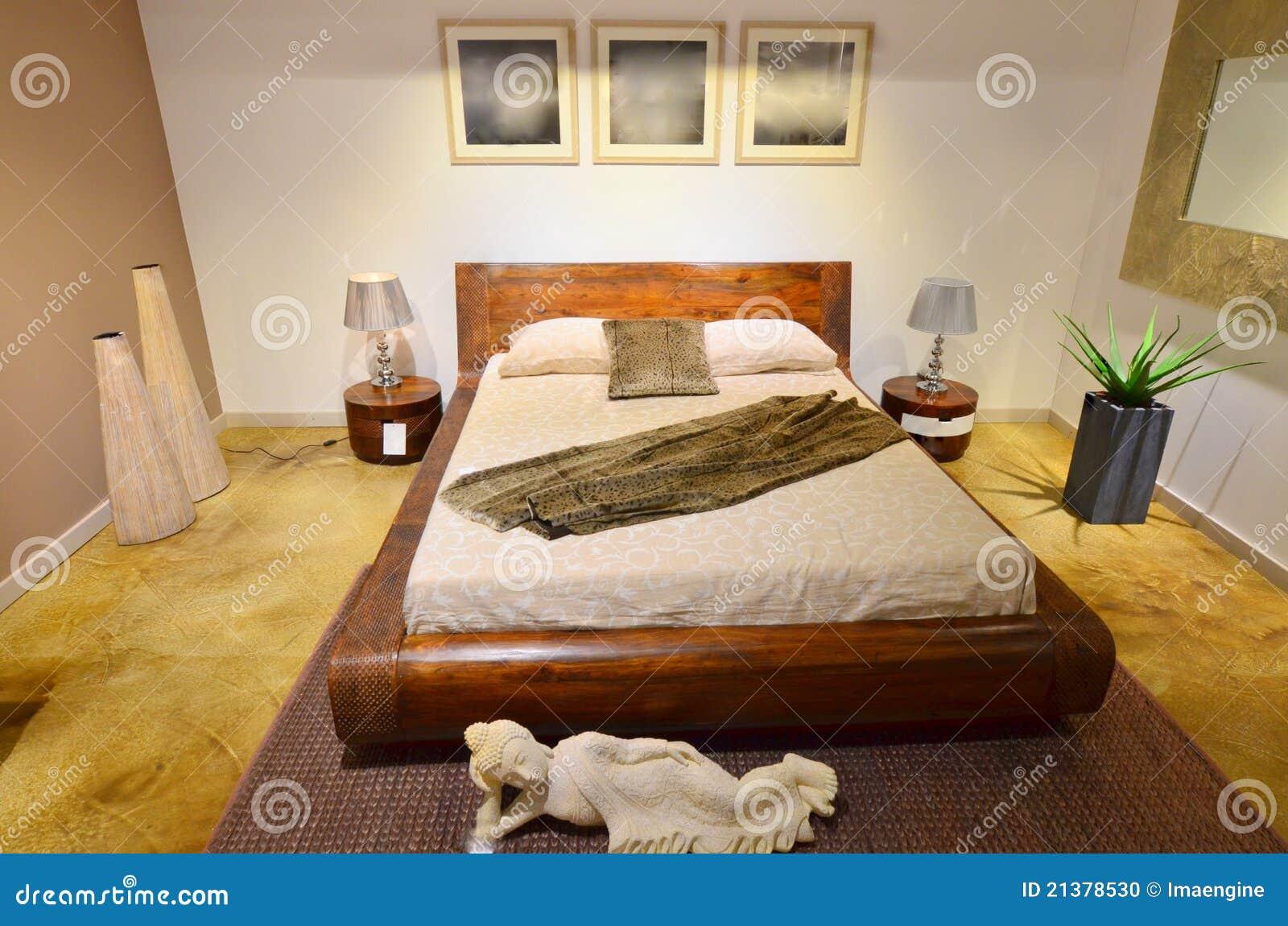 Förlagapn modernt för sovrum arkivfoto   bild: 21378530