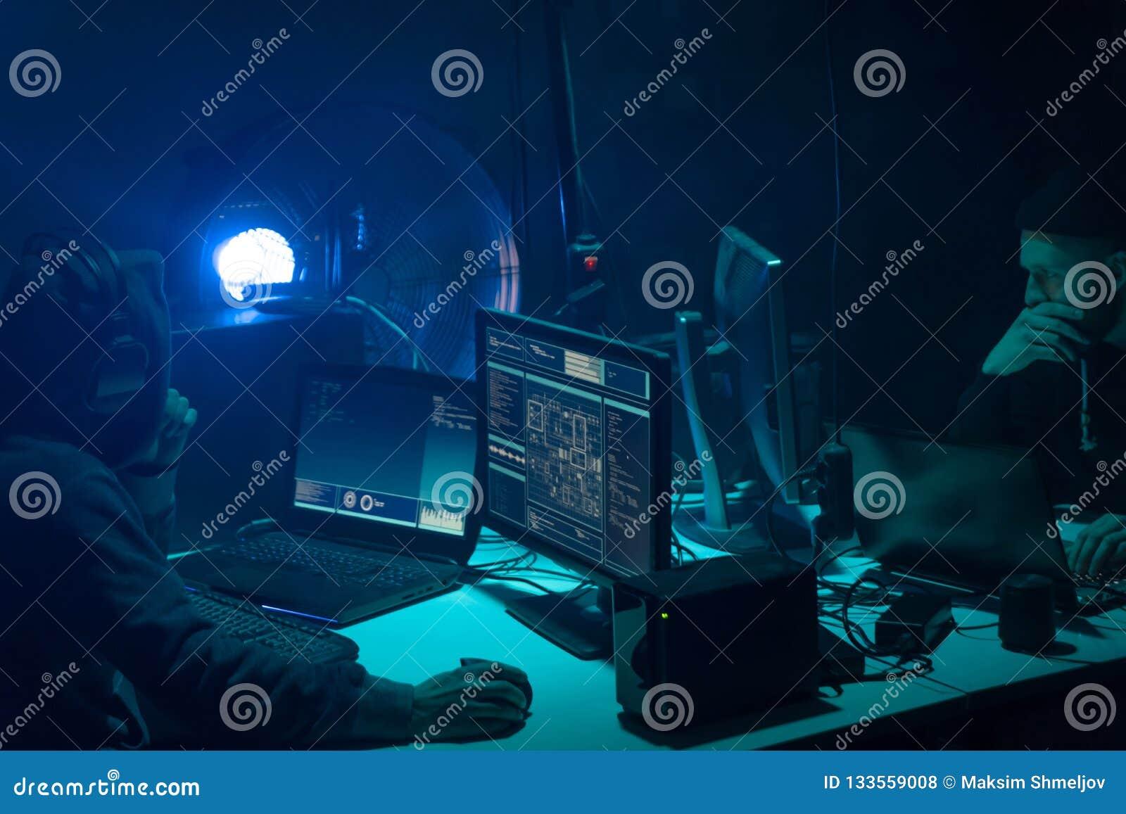 Frode Di Internet, Darknet, Thiefs Di Dati, Concetto Del ...