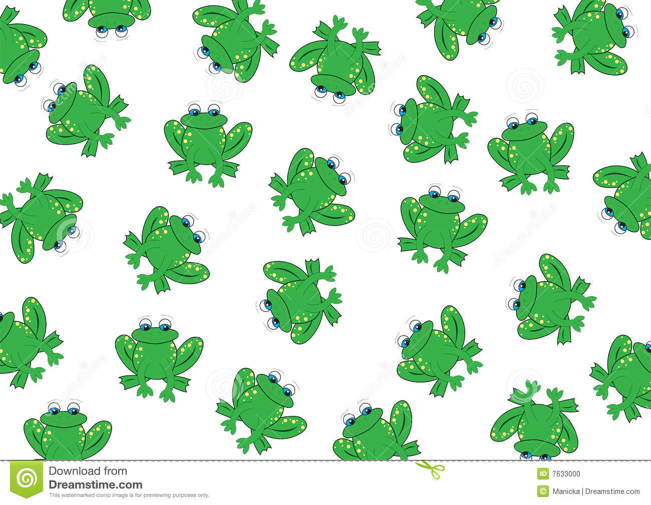 frog background stock vector illustration of water Cute Green Frog Frog From Frog and Toad Character