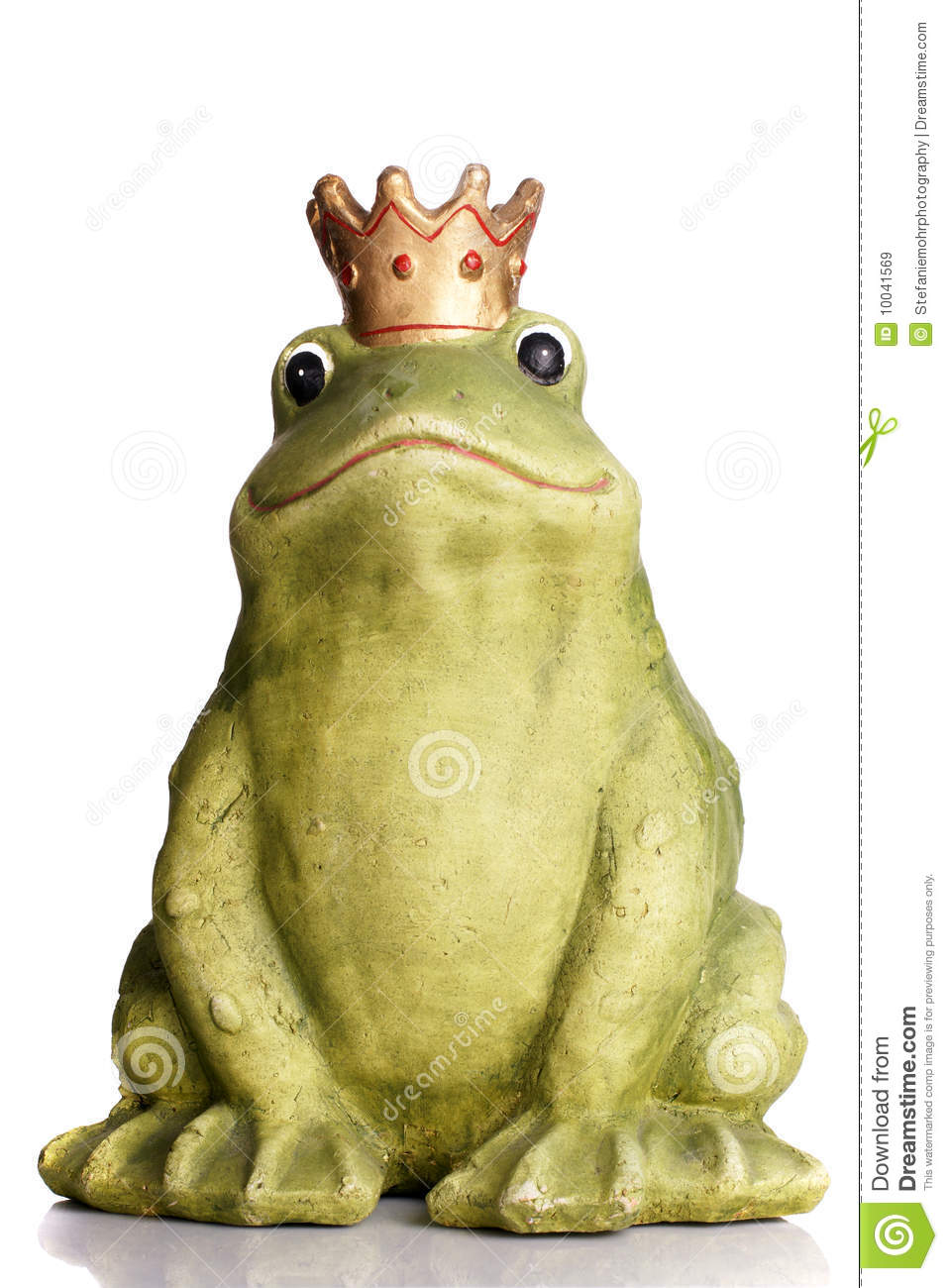 Frog King Stock Image Image Of Bewitched King Green