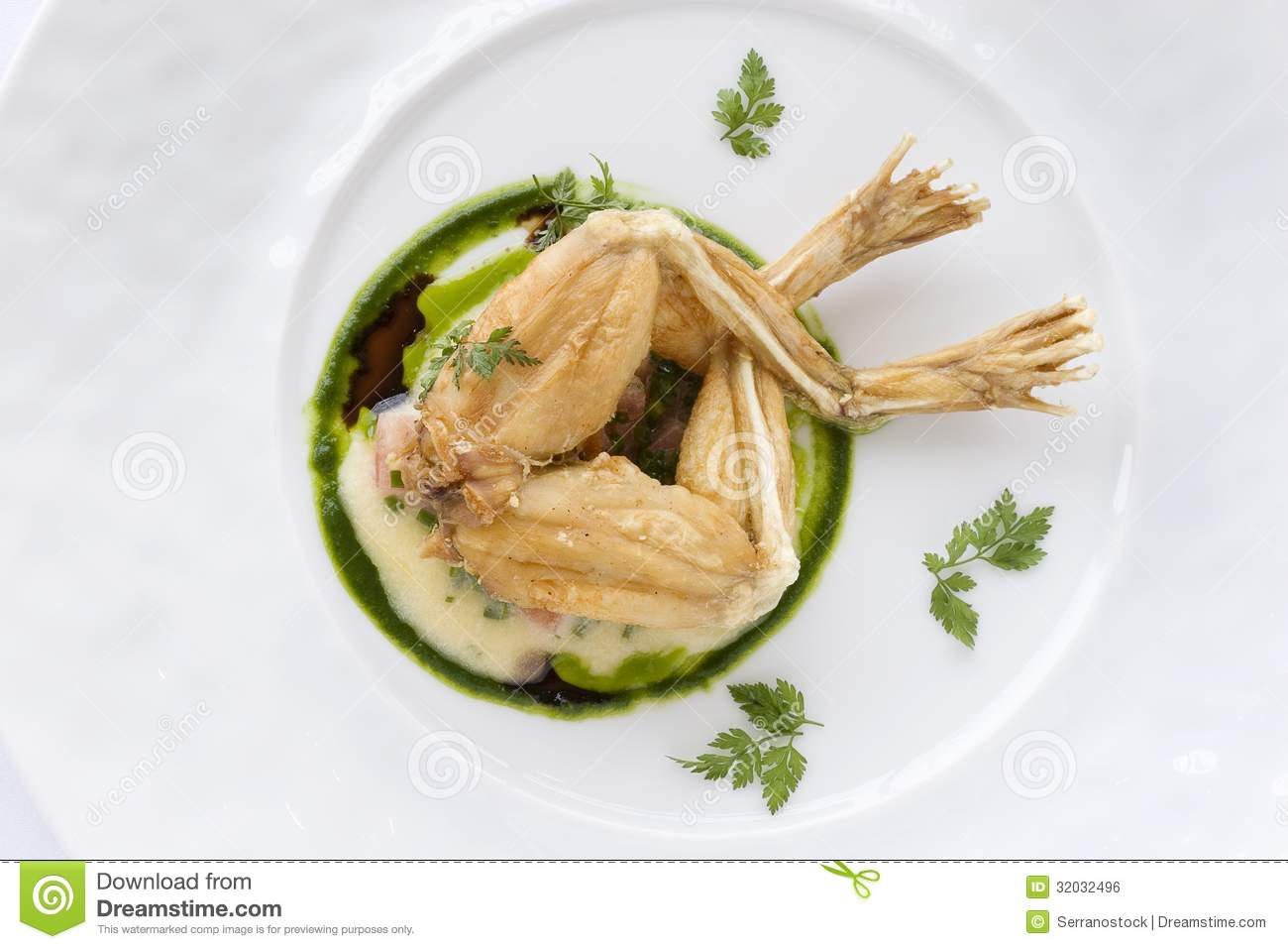 Frog legs royalty free stock image image 32032496 for A french cuisine