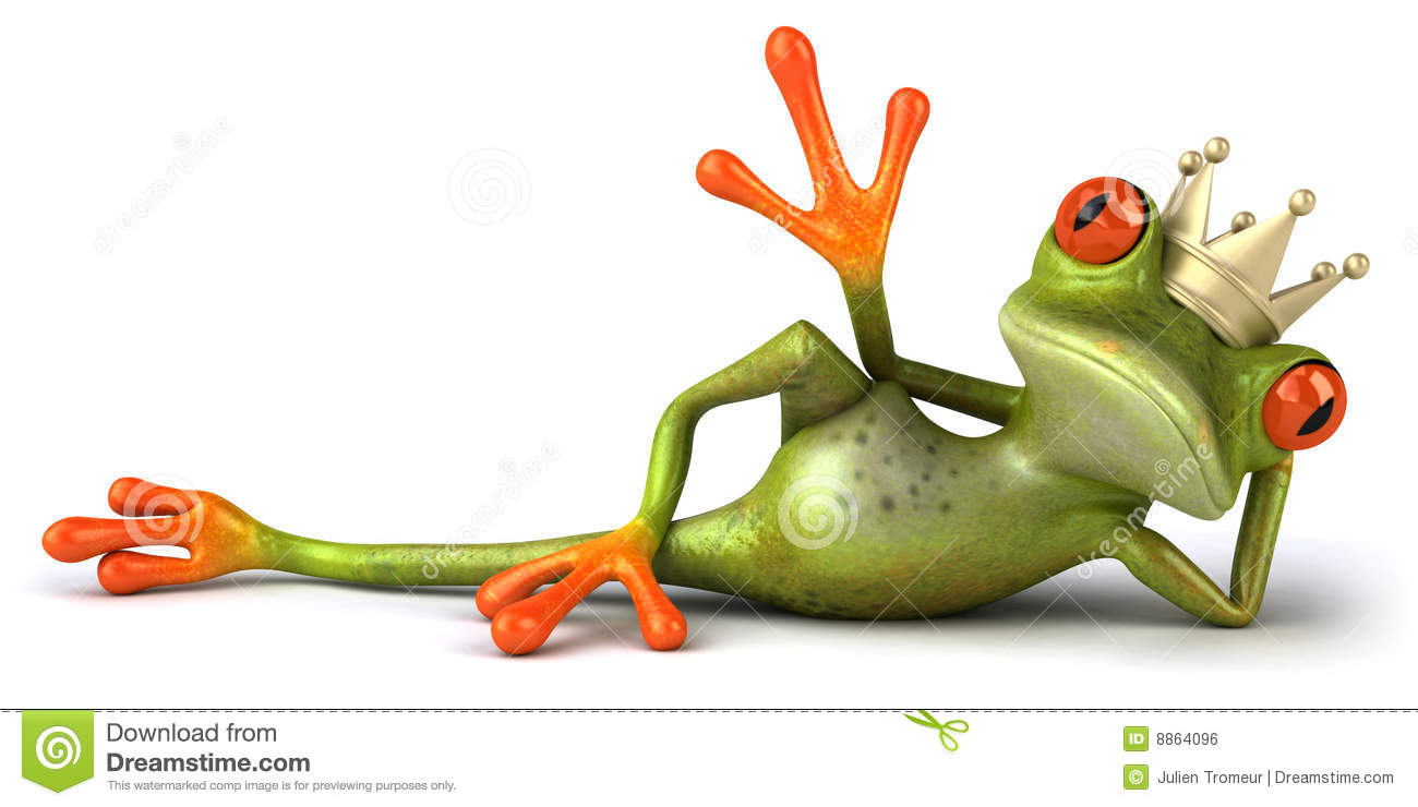 Frog In Love Royalty Free Stock Image Image 8864096