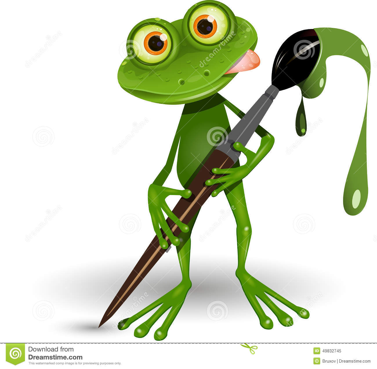 Frog Paint Stock Illustrations – 332 Frog Paint Stock Illustrations ...