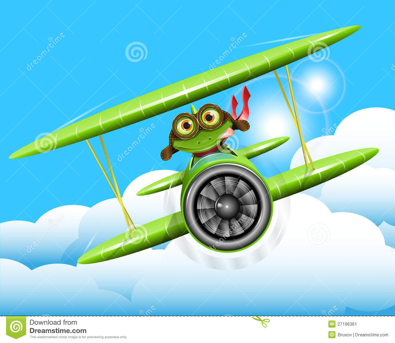 Frog Aircraft Stock Illustrations – 46 Frog Aircraft Stock Illustrations,  Vectors & Clipart - Dreamstime