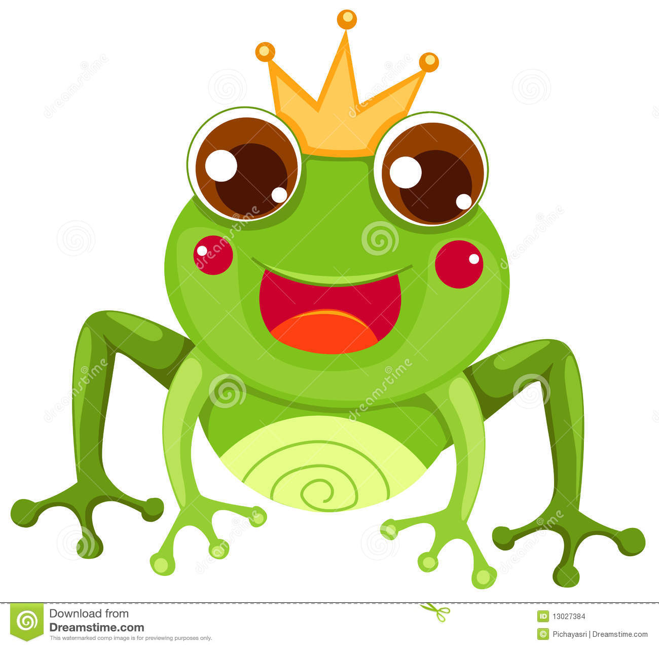 Frog Prince Stock Images Image 13027384
