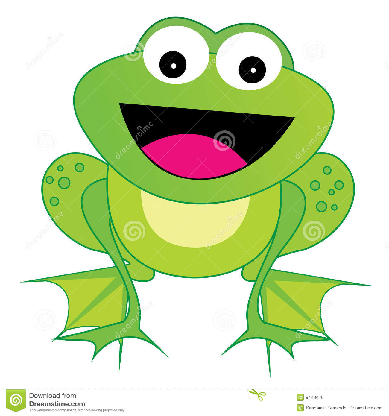 Frog Vector Eps Royalty Free Stock Image Image 8448476