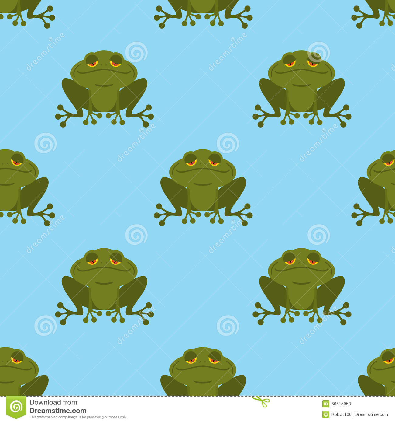 frog in water seamless pattern blue lake and green toad textur stock vector illustration. Black Bedroom Furniture Sets. Home Design Ideas