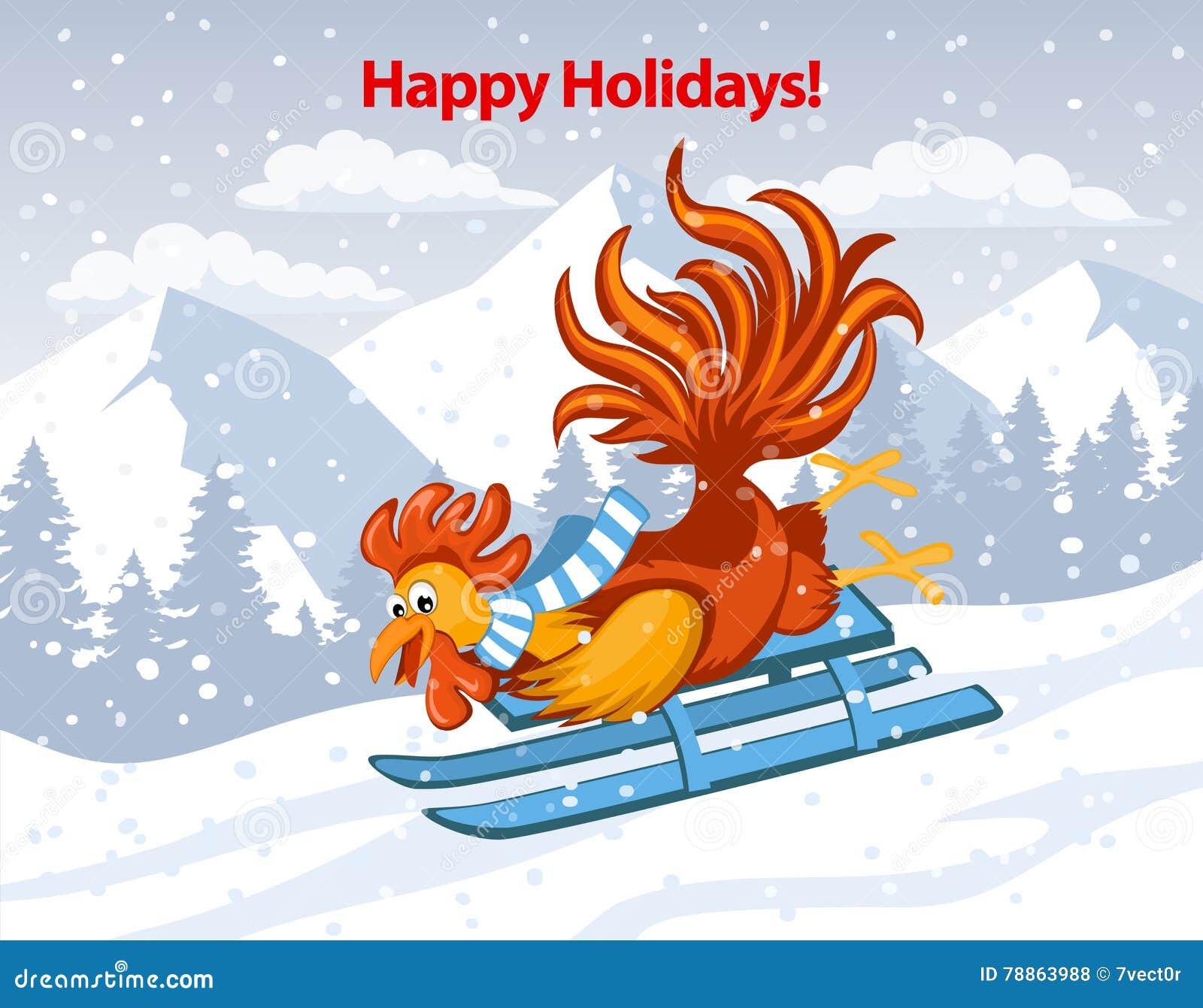 Frohe Feiertage Frohe Weihnachten Und Guten Rutsch Ins Neue Jahr ...