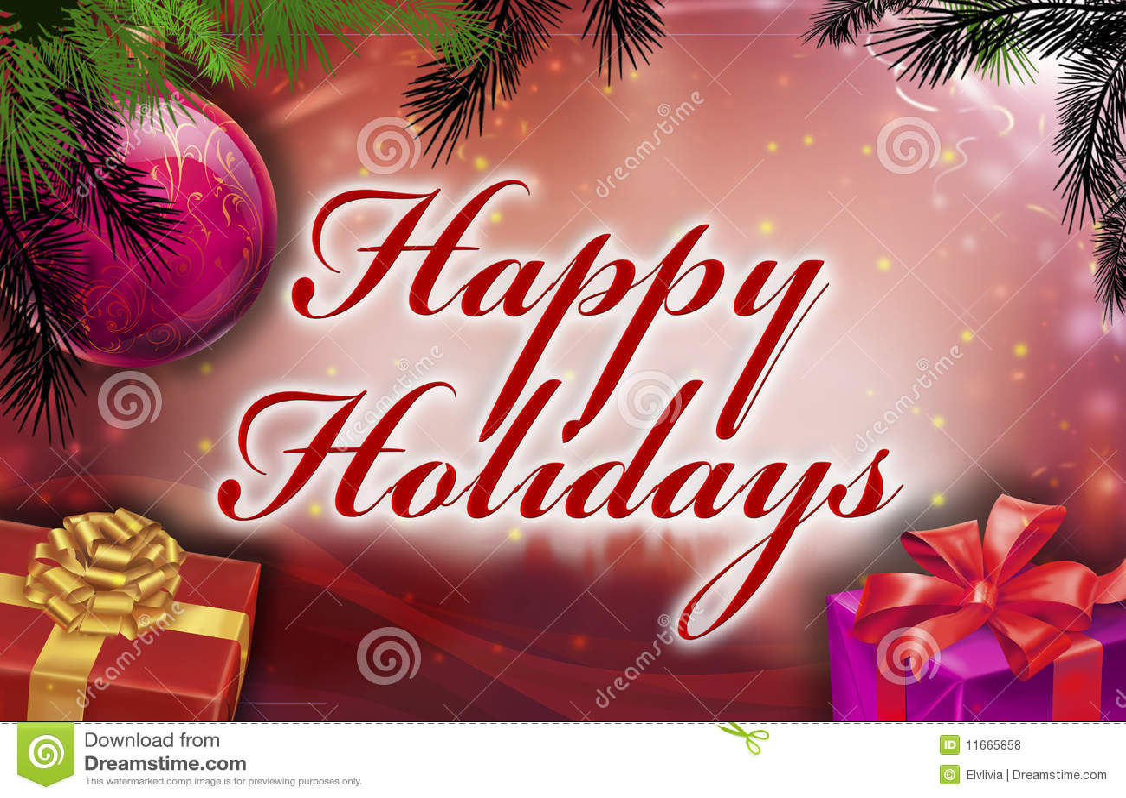 Frohe Feiertage Wünsche