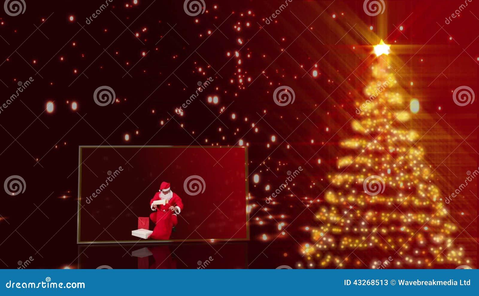 Animation Frohe Weihnachten.Frohe Weihnacht Animation Stock Video Video Von Geschenke 43268513