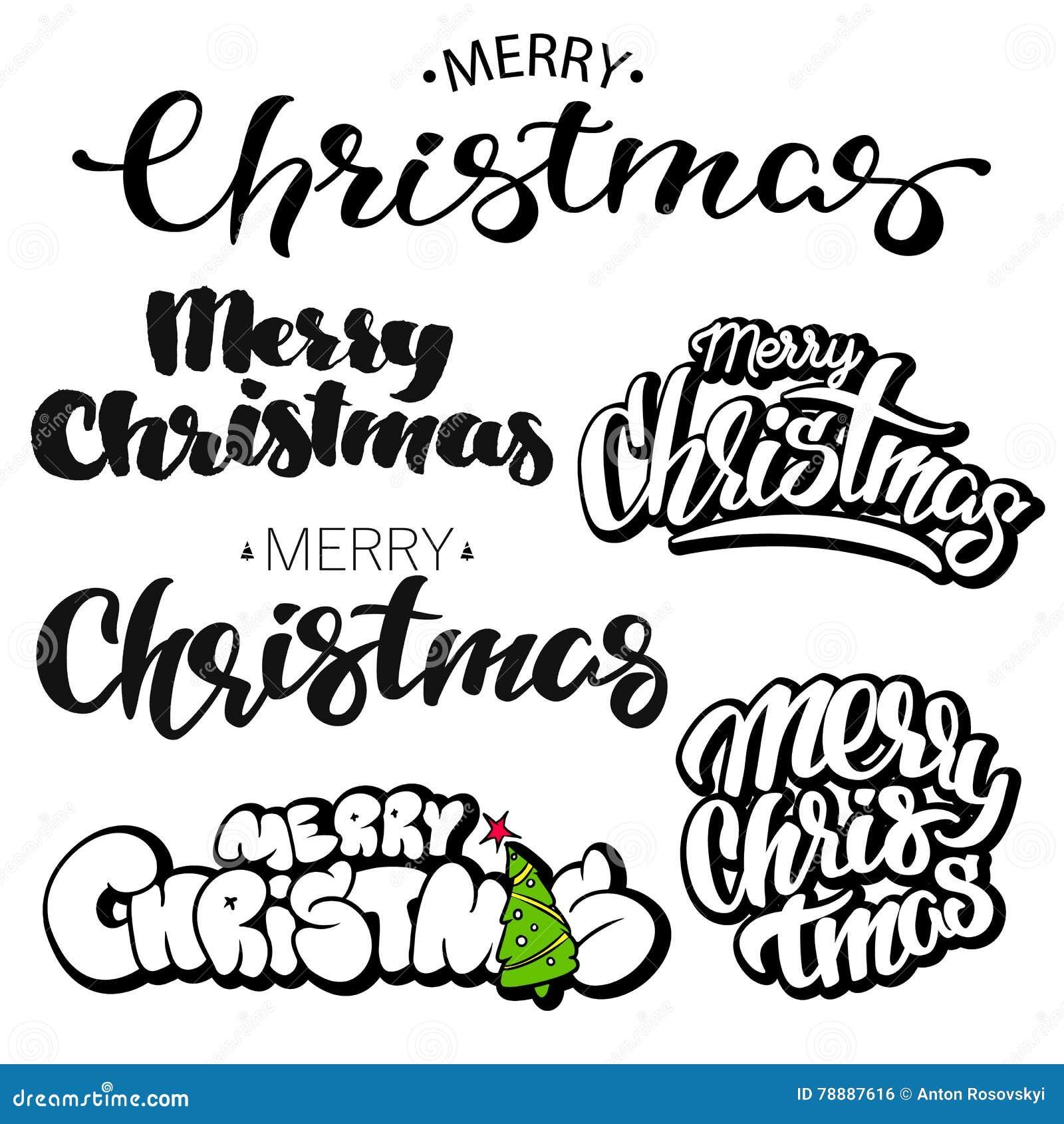 Frohe Weihnacht-Briefgestaltungs-Satz Auch im corel abgehobenen Betrag
