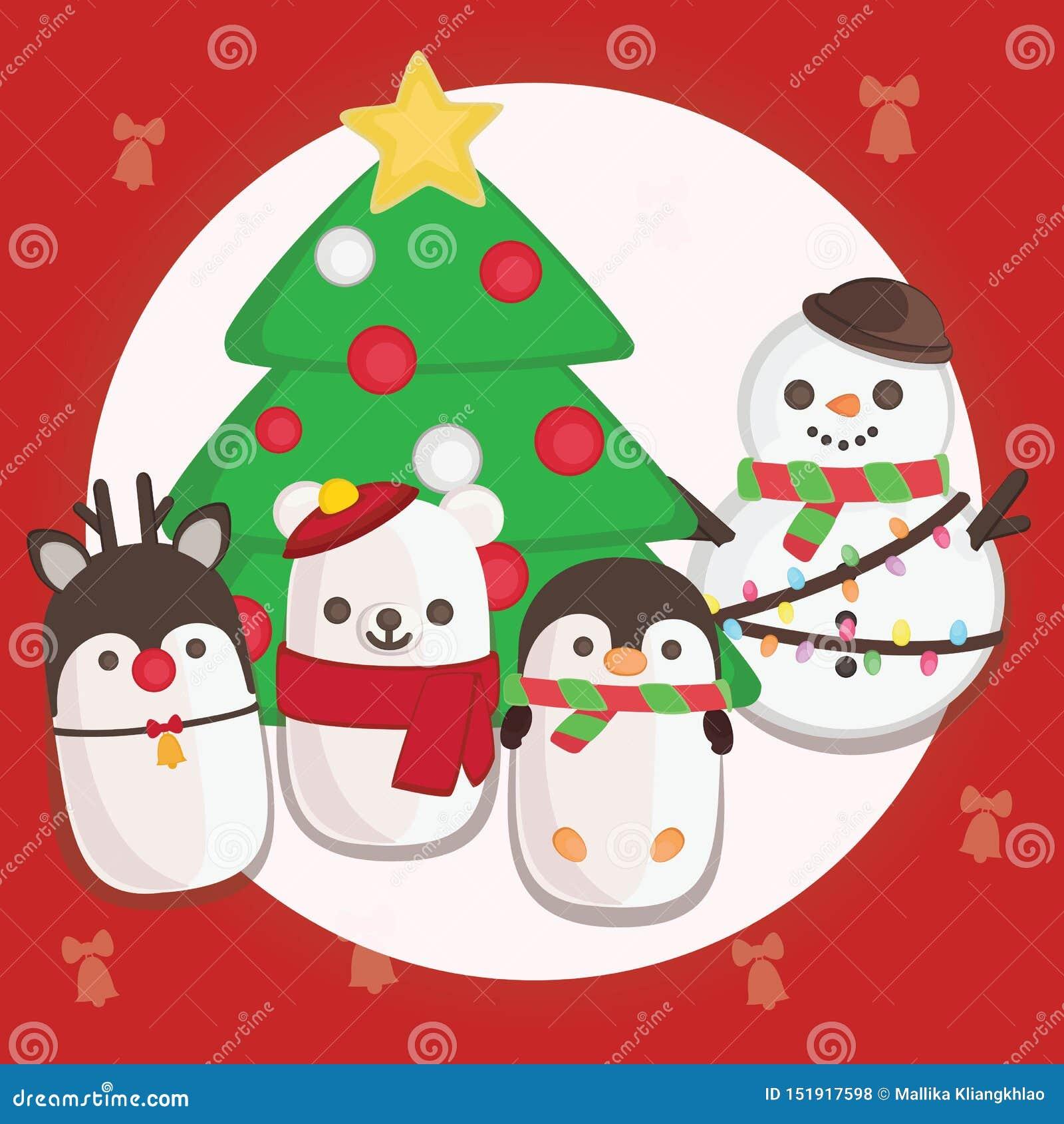 Frohe Weihnacht-Dekoration