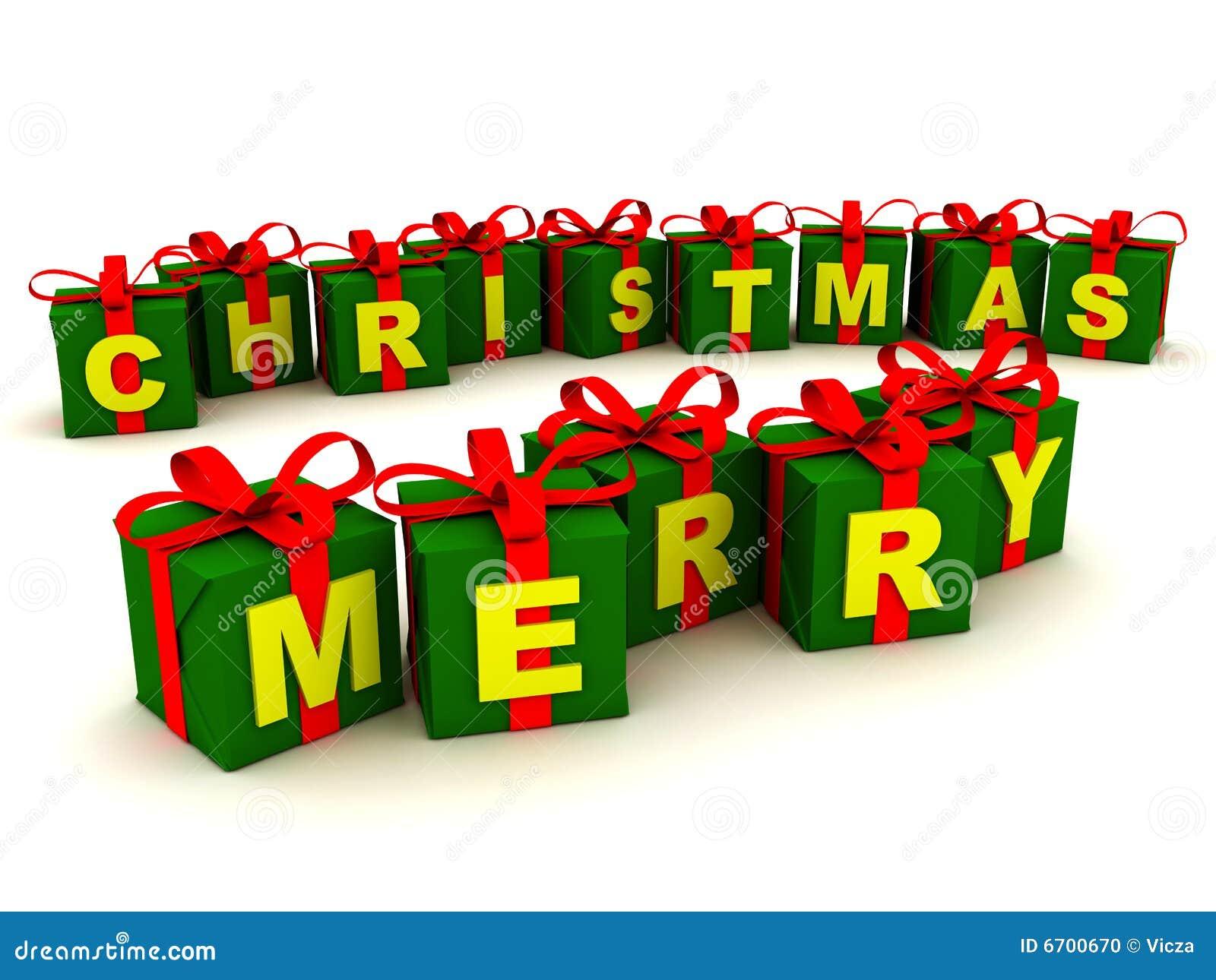 frohe weihnacht geschenke stockfoto bild 6700670. Black Bedroom Furniture Sets. Home Design Ideas