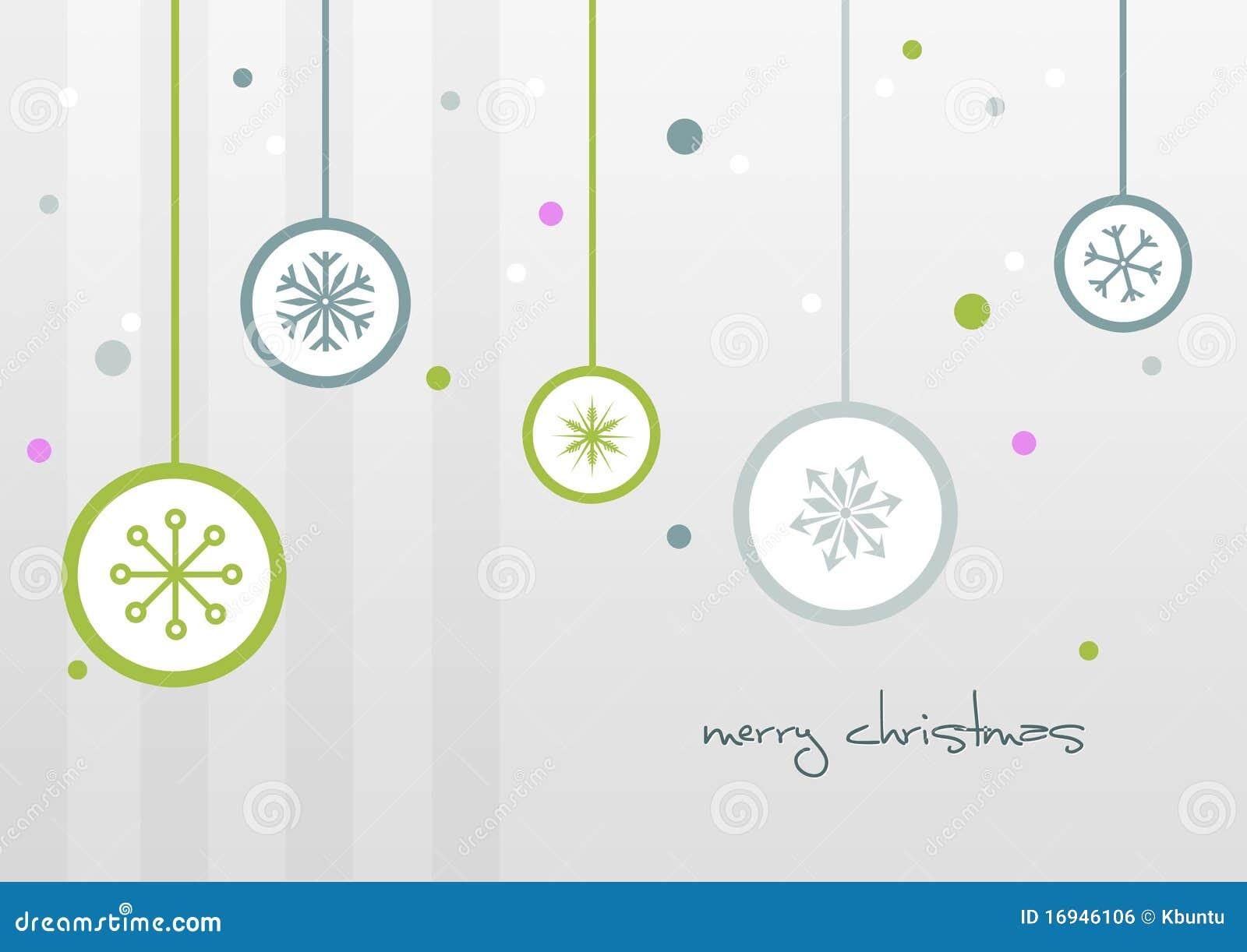 Frohe Weihnacht-Karte