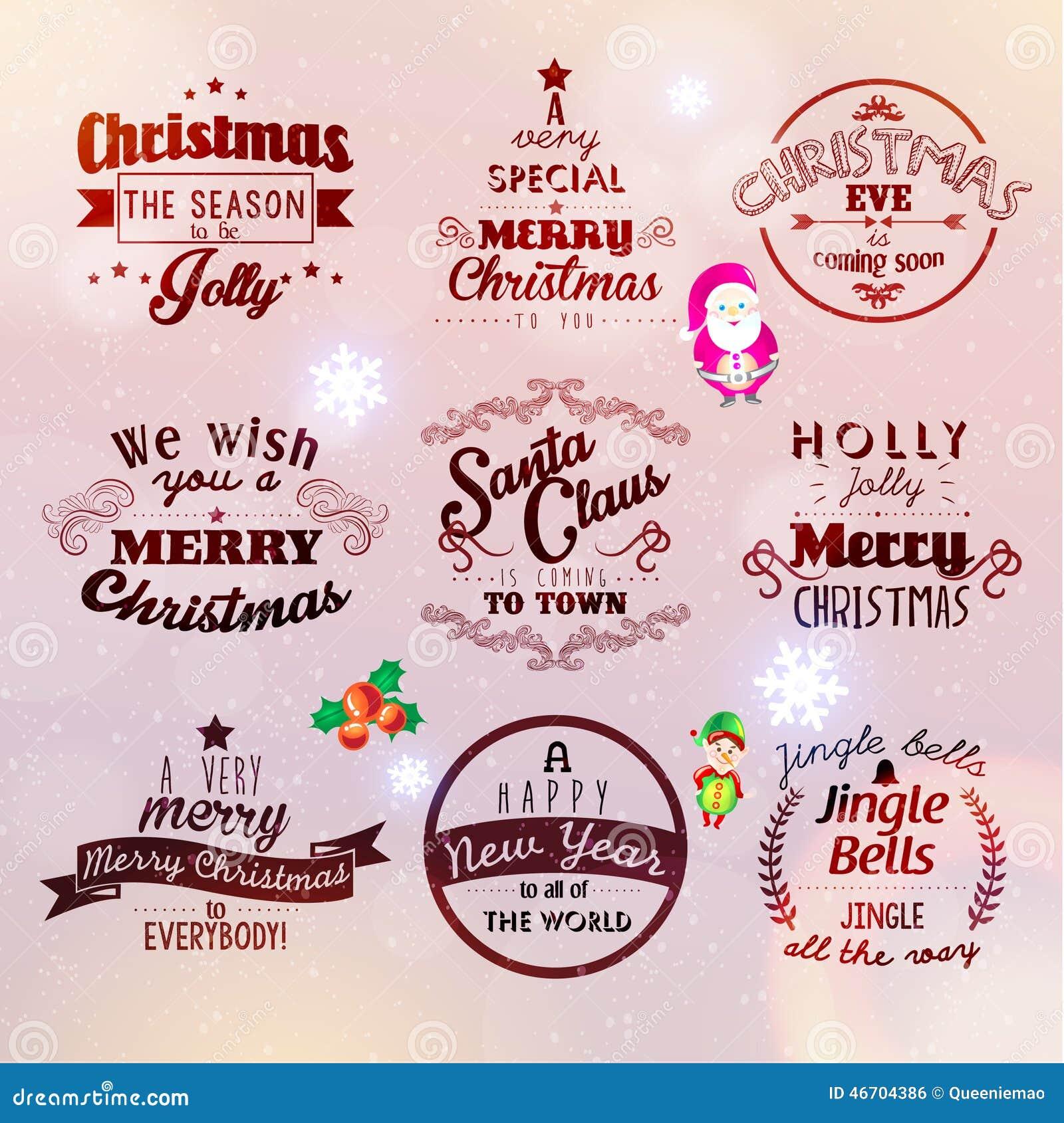Frohe Weihnacht-und Des Guten Rutsch Ins Neue Jahr-2015 Grüße Vektor ...