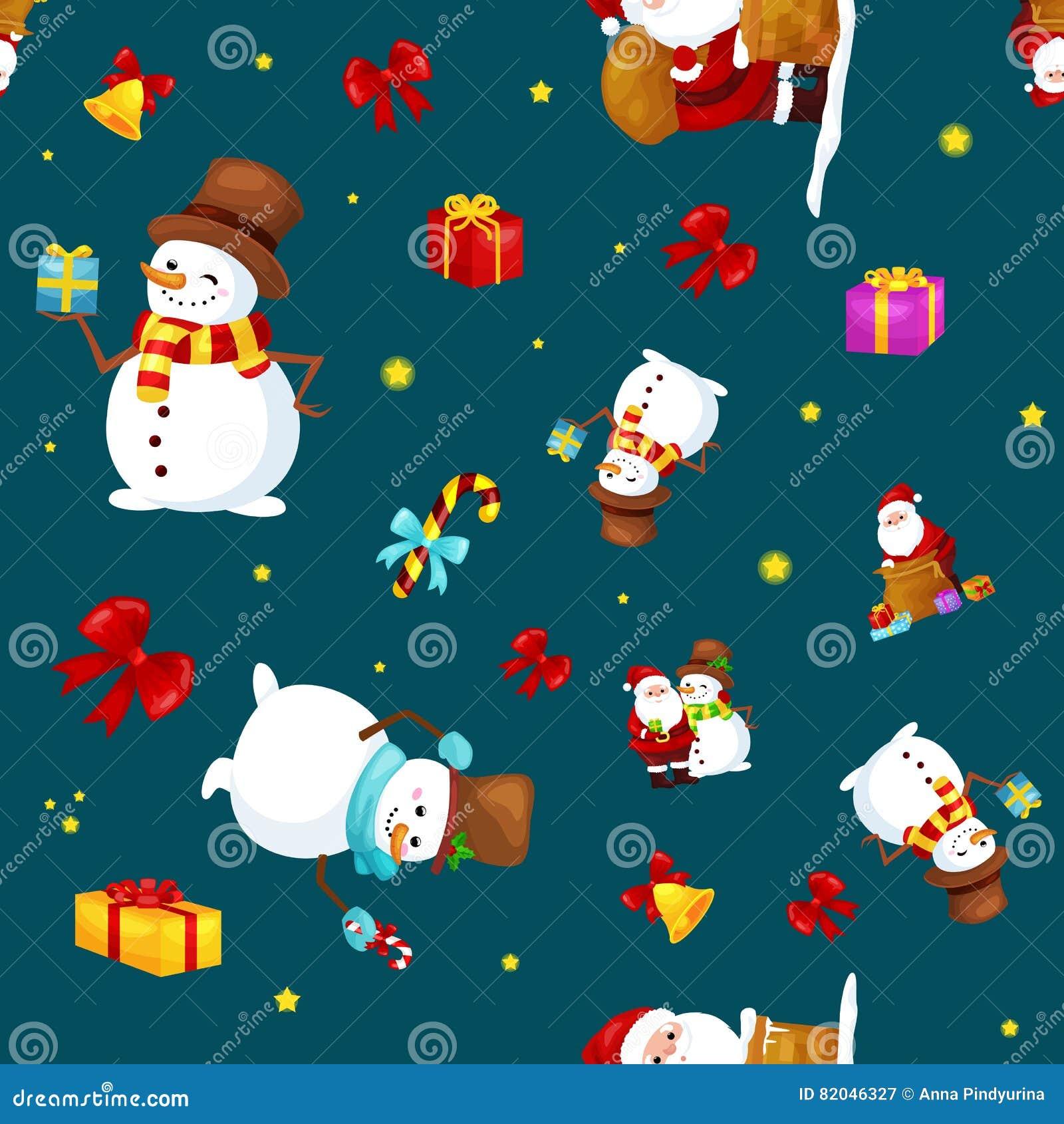 Frohe Weihnacht-und Guten Rutsch Ins Neue Jahr-Freunde Santa Claus ...