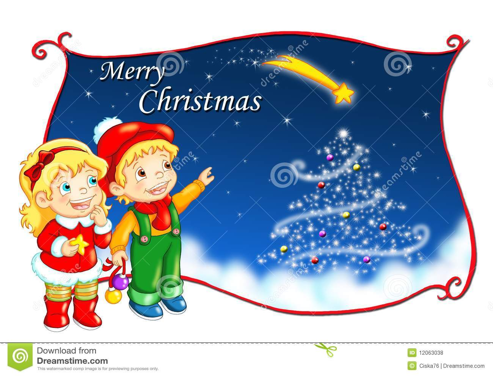 Frohe Weihnachten stock abbildung. Illustration von hintergrund ...
